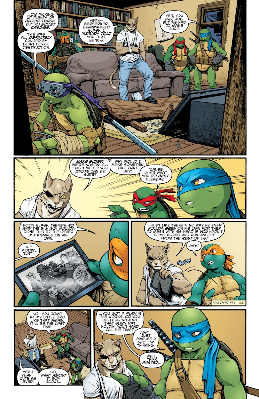 Read online Teenage Mutant Ninja Turtles: The IDW Collection comic -  Issue # TPB 9 (Part 1) - 46
