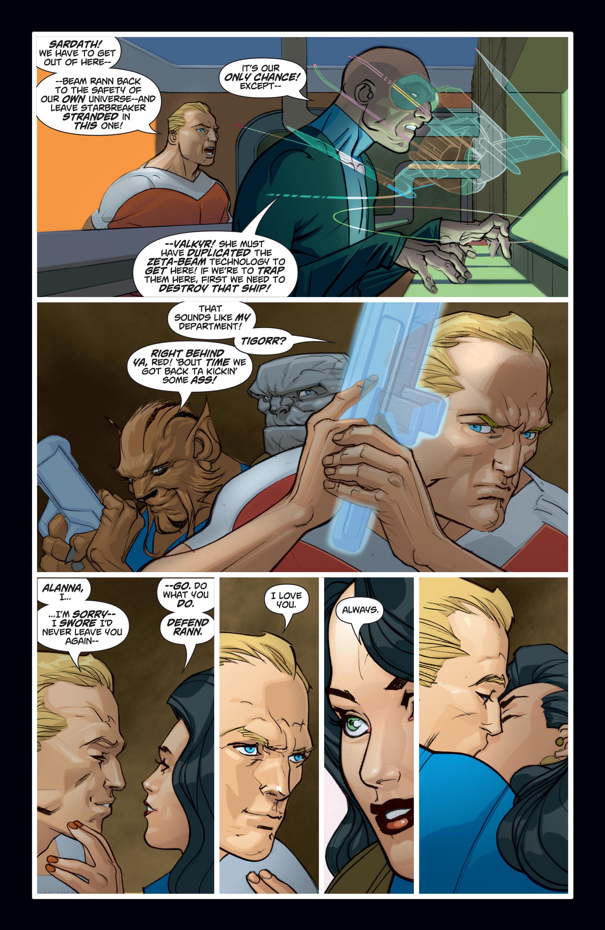 Read online Adam Strange (2004) comic -  Issue #7 - 18