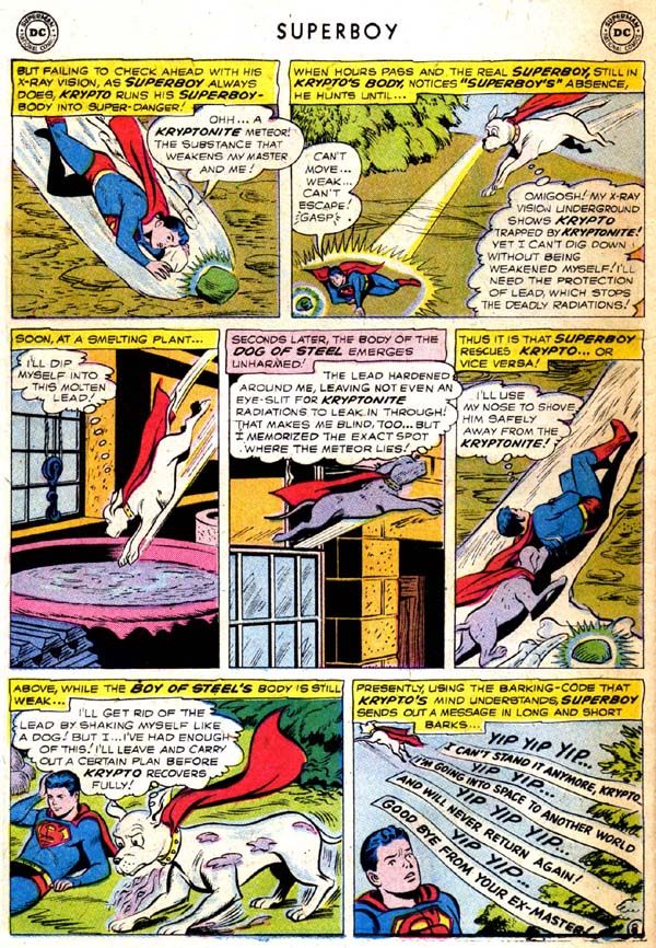 Superboy (1949) issue 71 - Page 9