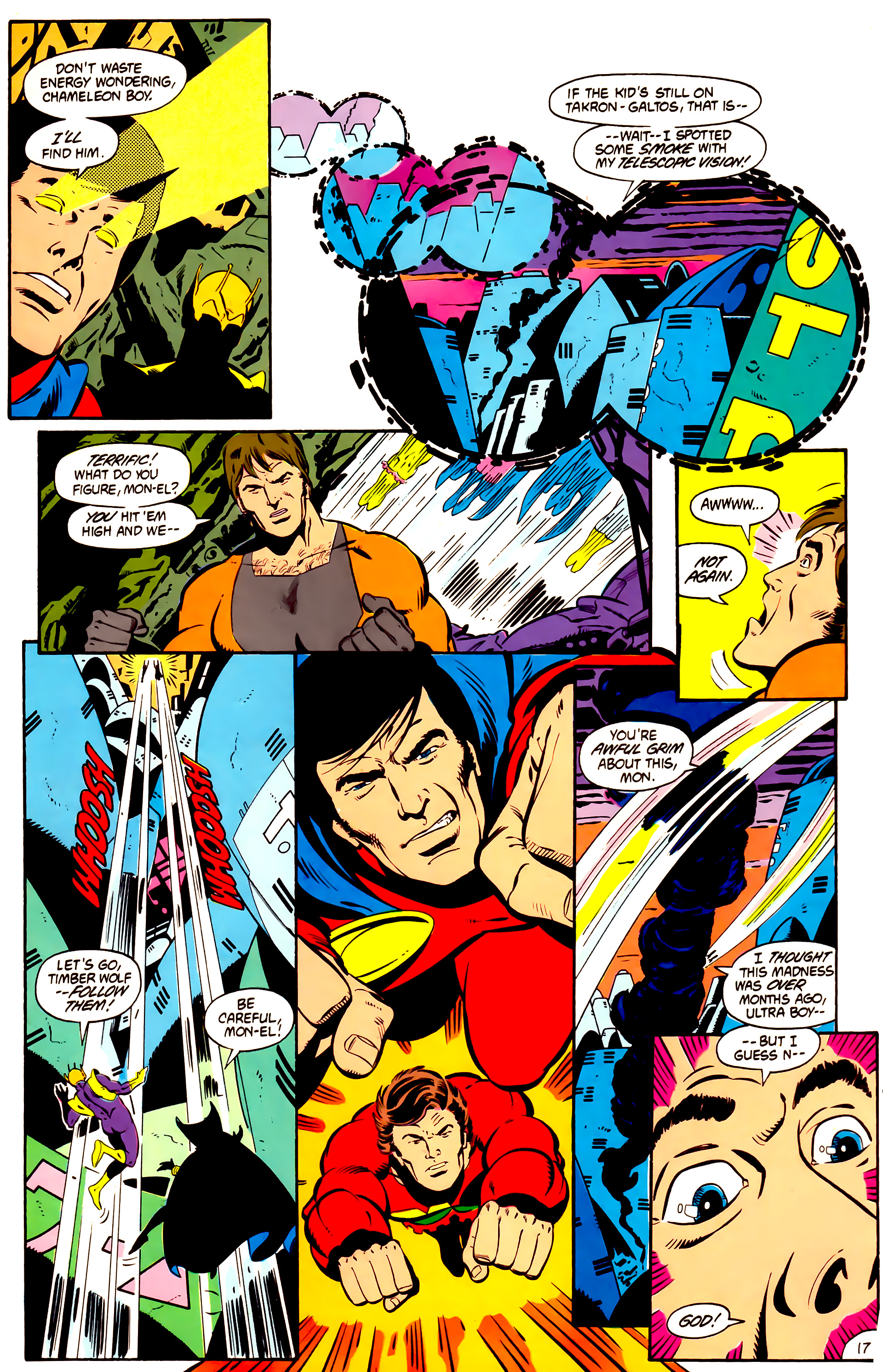 Legion of Super-Heroes (1984) 1 Page 18