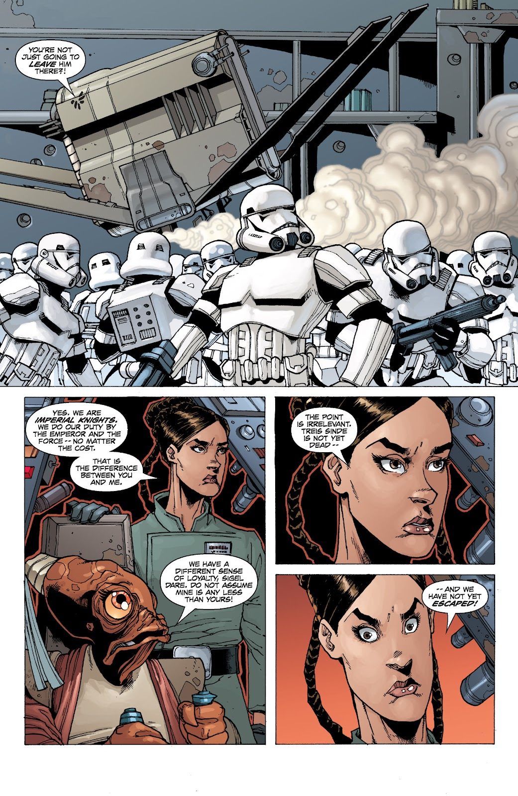 Read online Star Wars Legends: Legacy - Epic Collection comic -  Issue # TPB 2 (Part 1) - 93