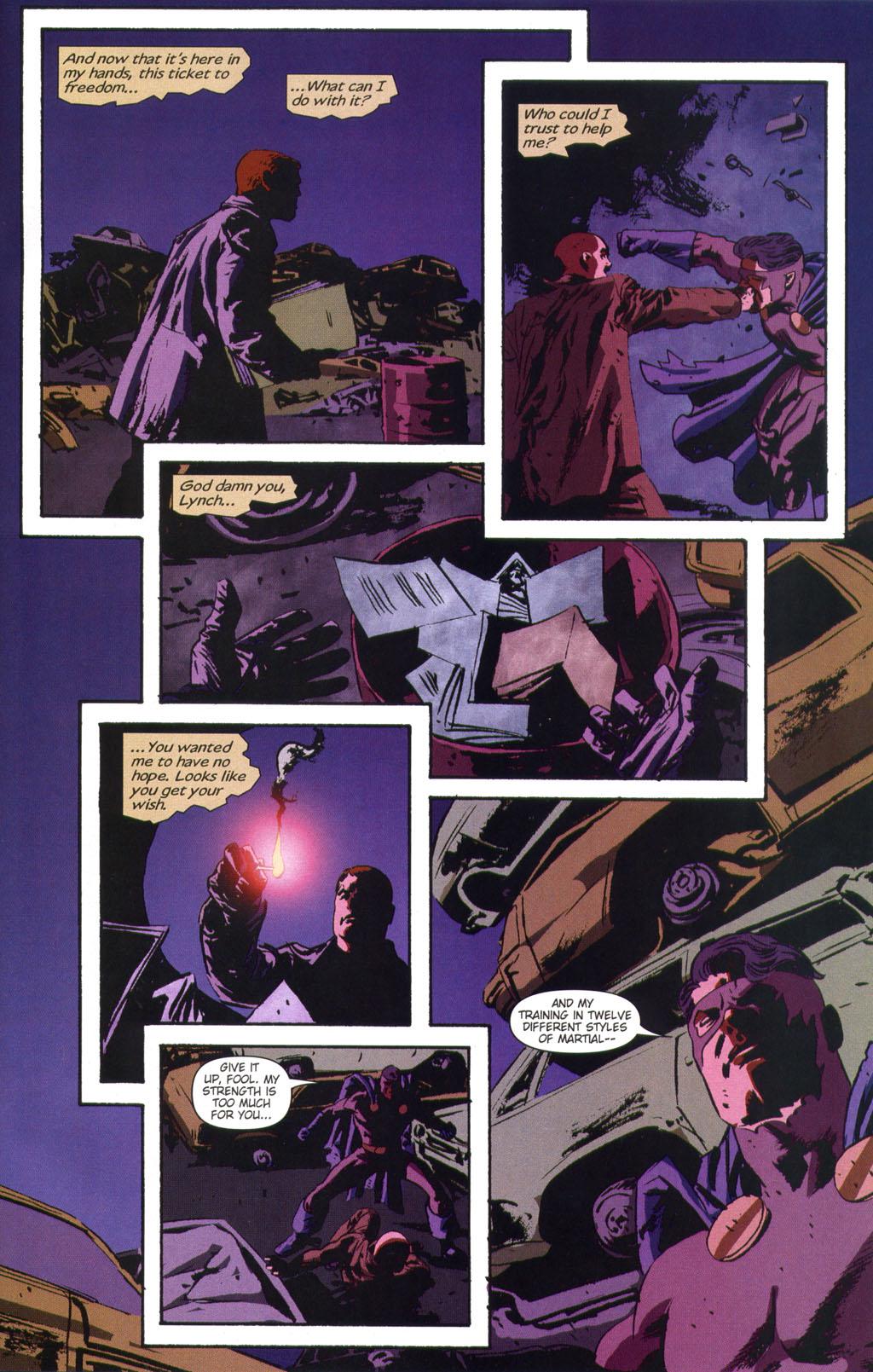 Read online Sleeper comic -  Issue #9 - 23