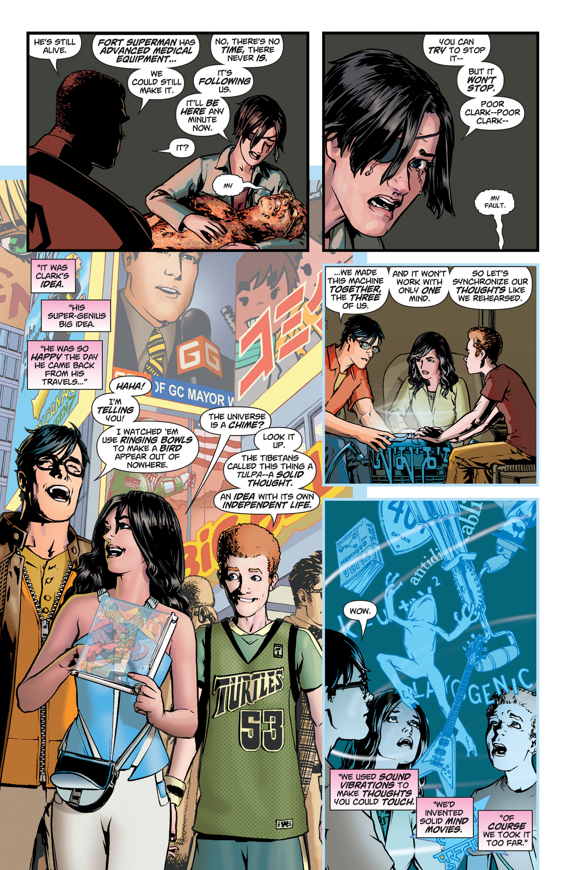 Read online Action Comics (2011) comic -  Issue #9 - 11