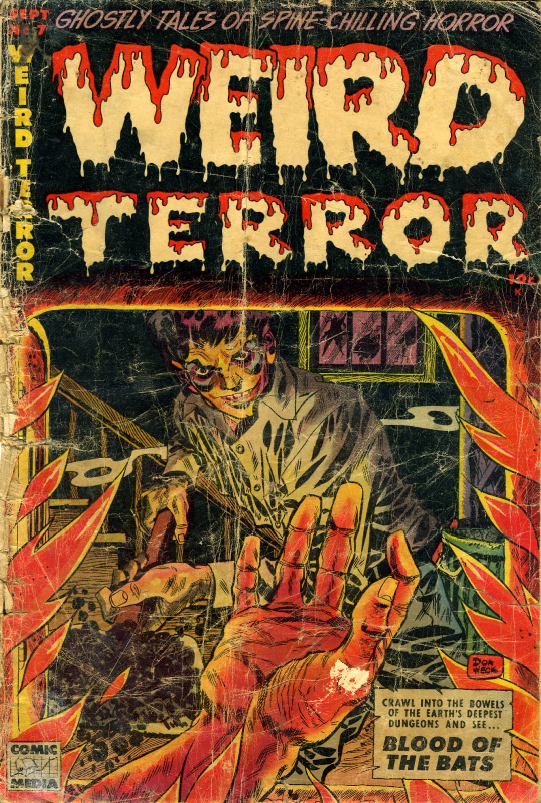 Weird Terror issue 7 - Page 1