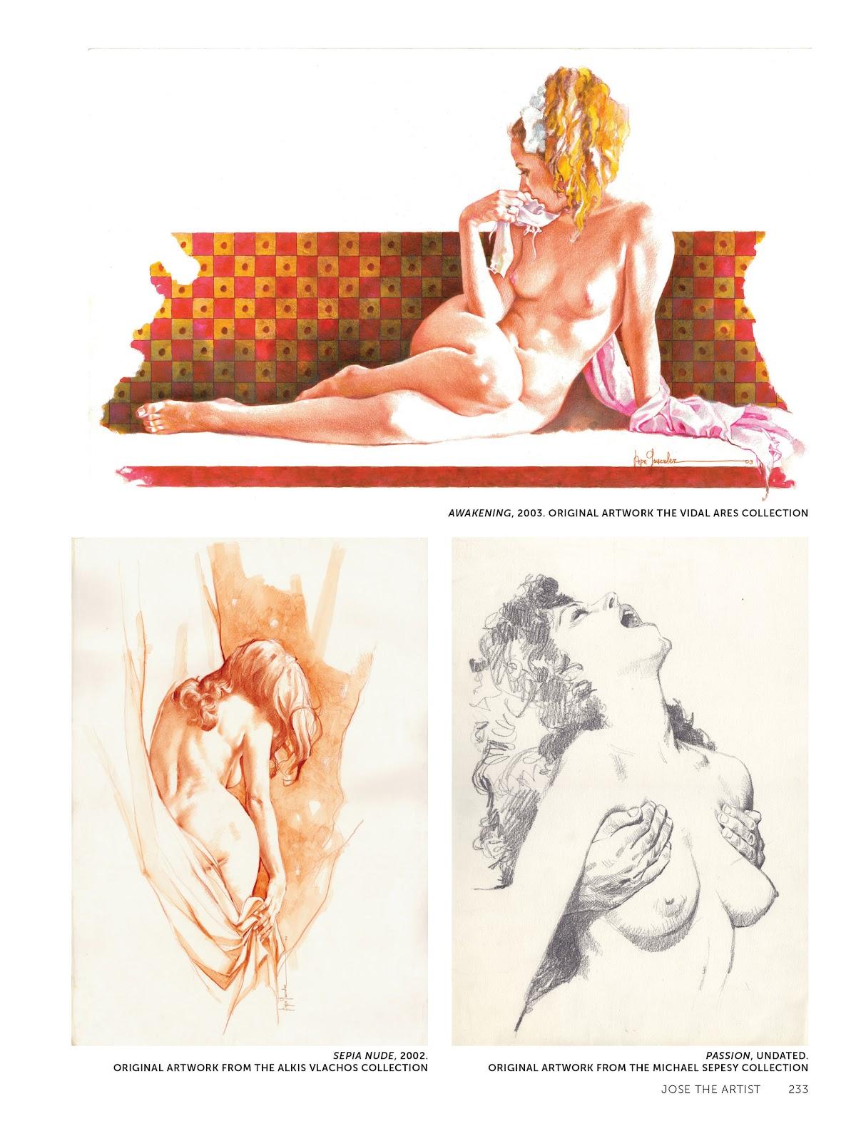 Read online The Art of Jose Gonzalez comic -  Issue # TPB (Part 3) - 36