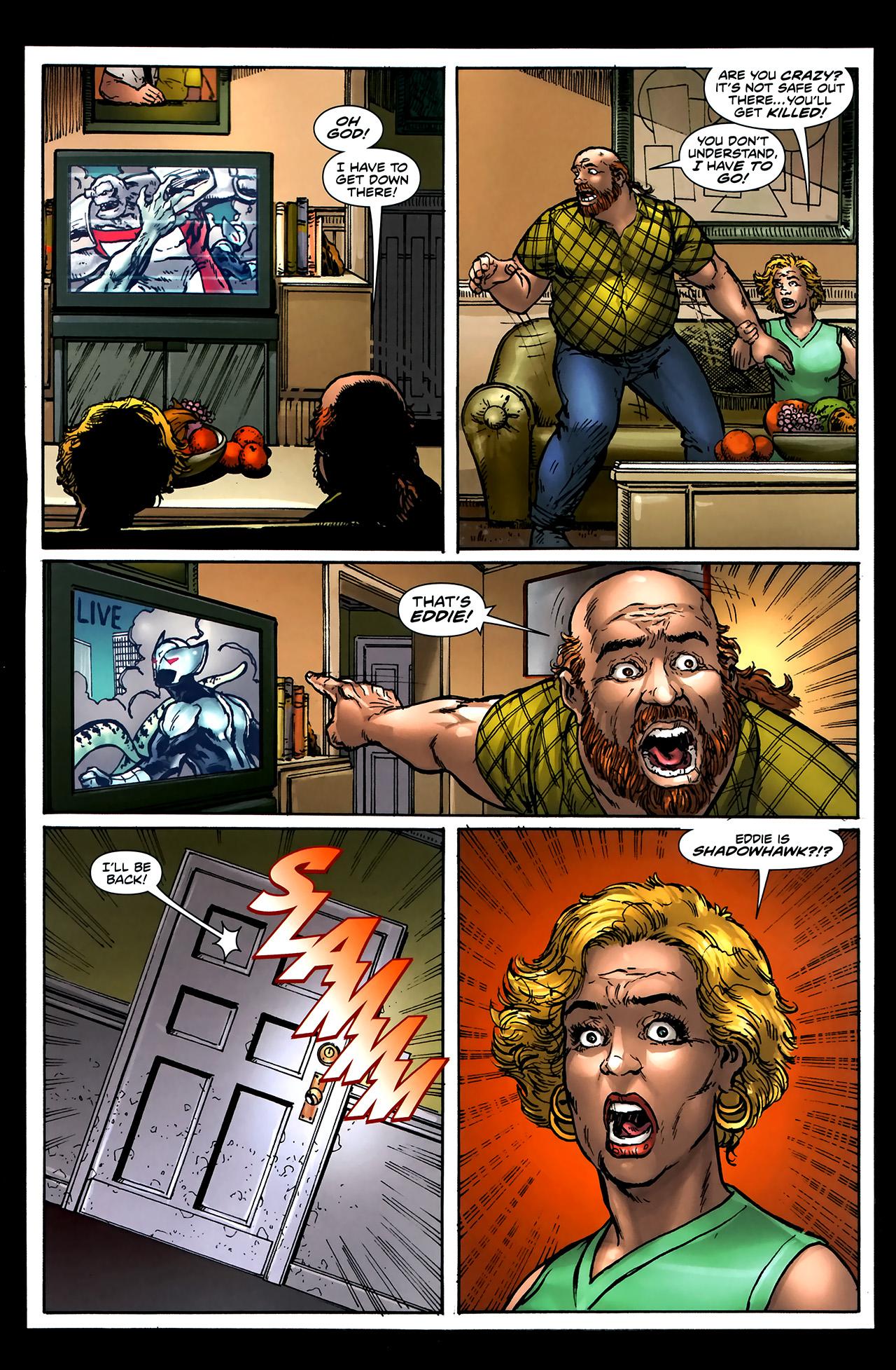 Read online ShadowHawk (2010) comic -  Issue #5 - 10