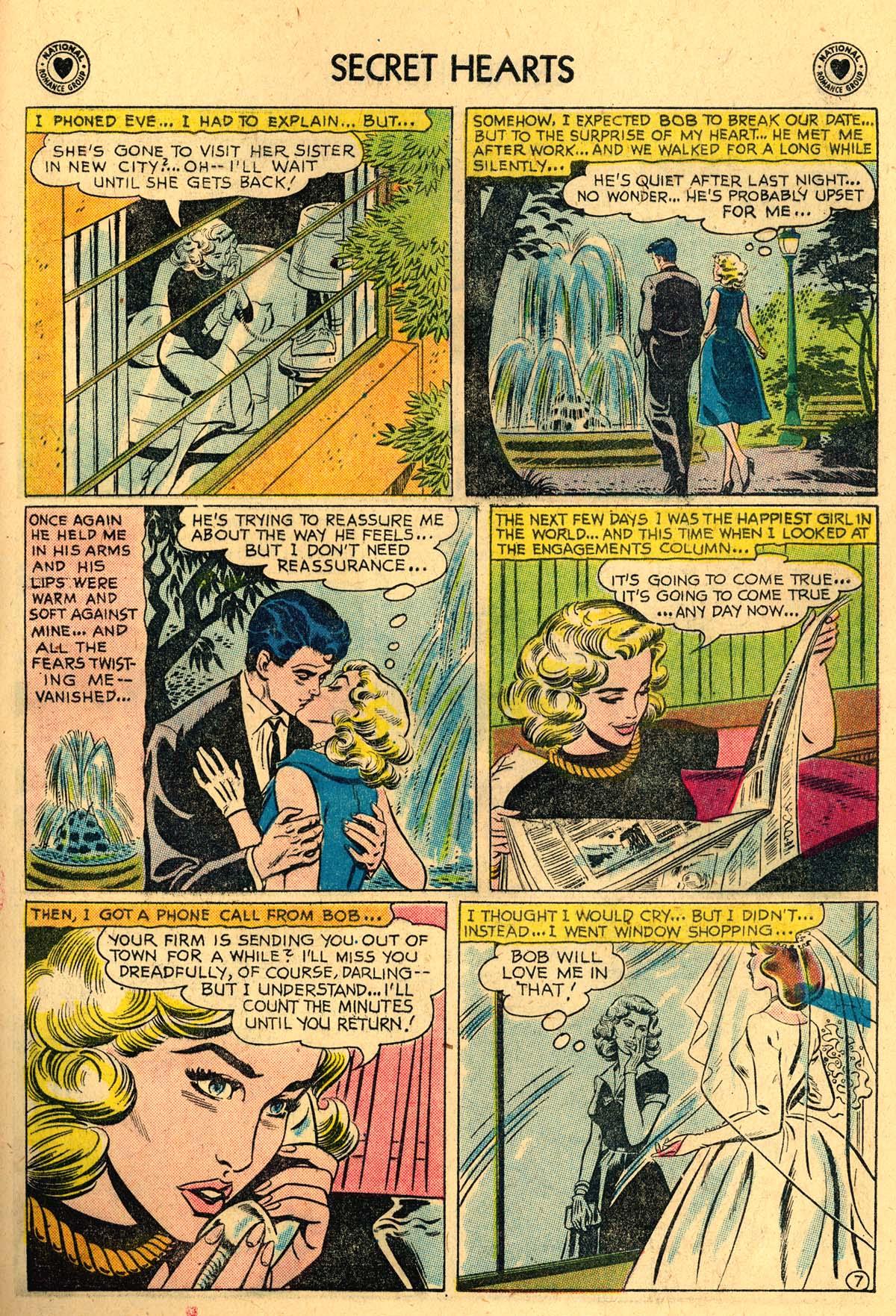 Read online Secret Hearts comic -  Issue #57 - 33