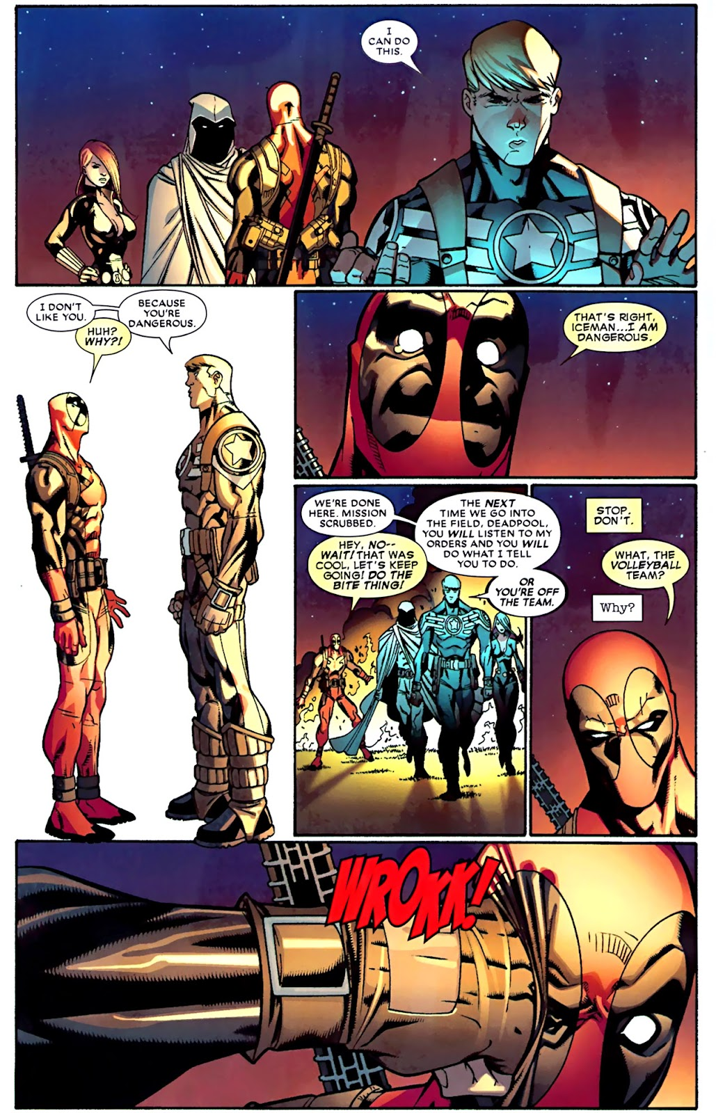 Read online Deadpool (2008) comic -  Issue #28 - 7