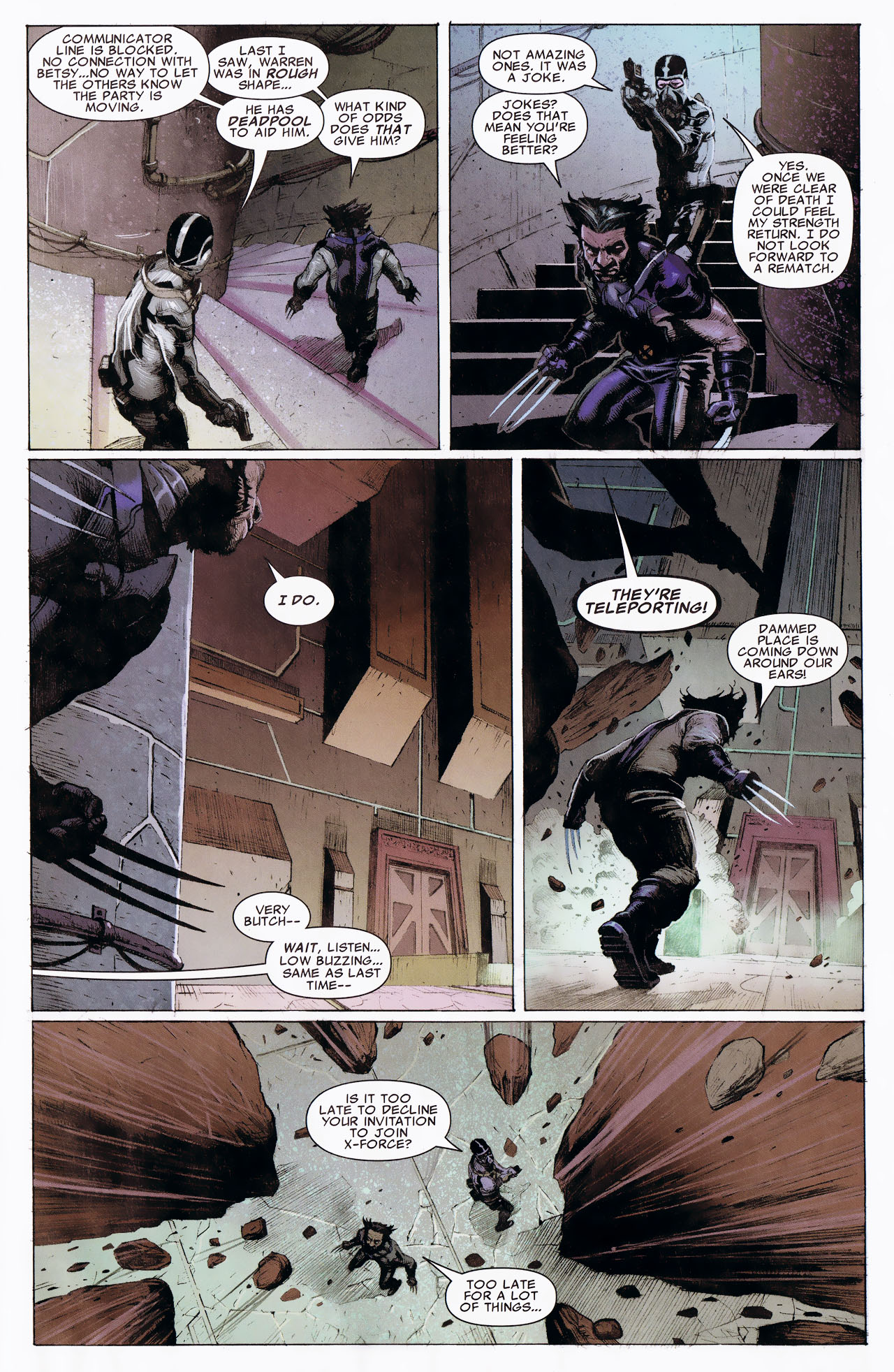Read online Uncanny X-Force: The Apocalypse Solution comic -  Issue # Full - 71