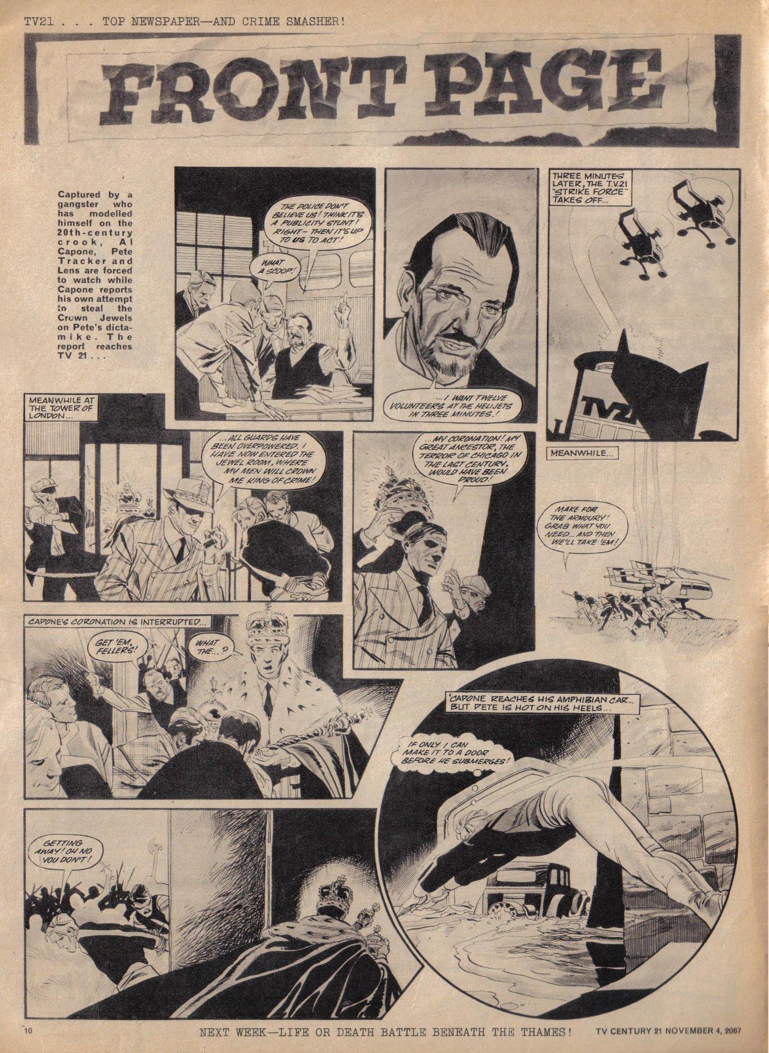 Read online TV Century 21 (TV 21) comic -  Issue #146 - 10