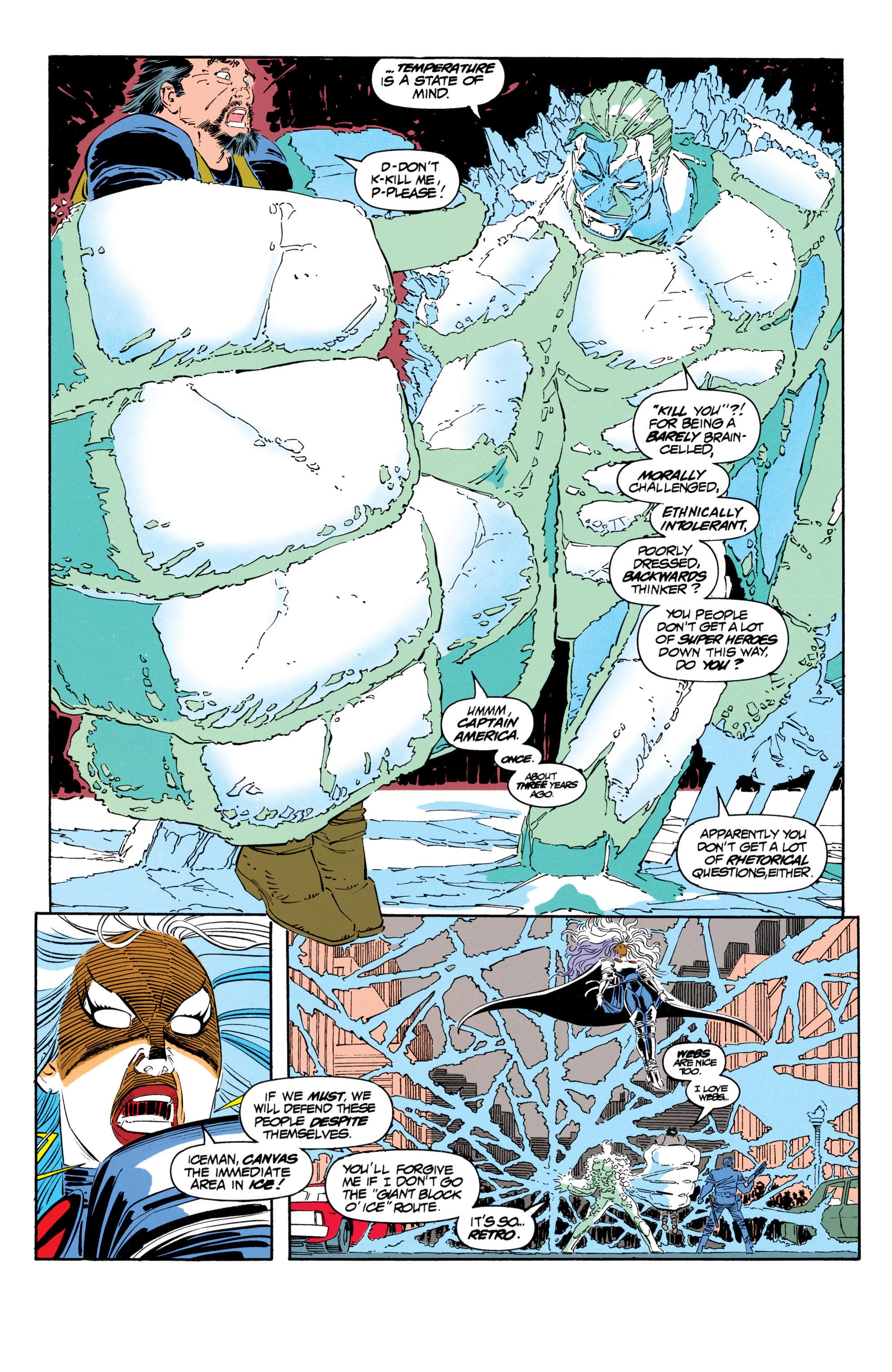 Read online Uncanny X-Men (1963) comic -  Issue #302 - 13