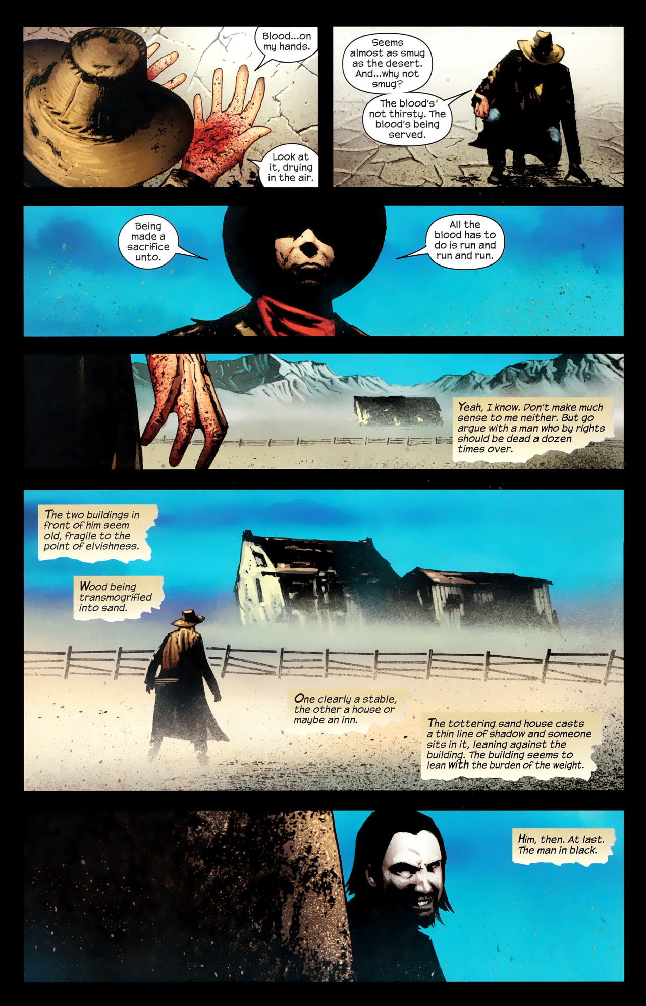 Read online Dark Tower: The Gunslinger - The Way Station comic -  Issue #1 - 21