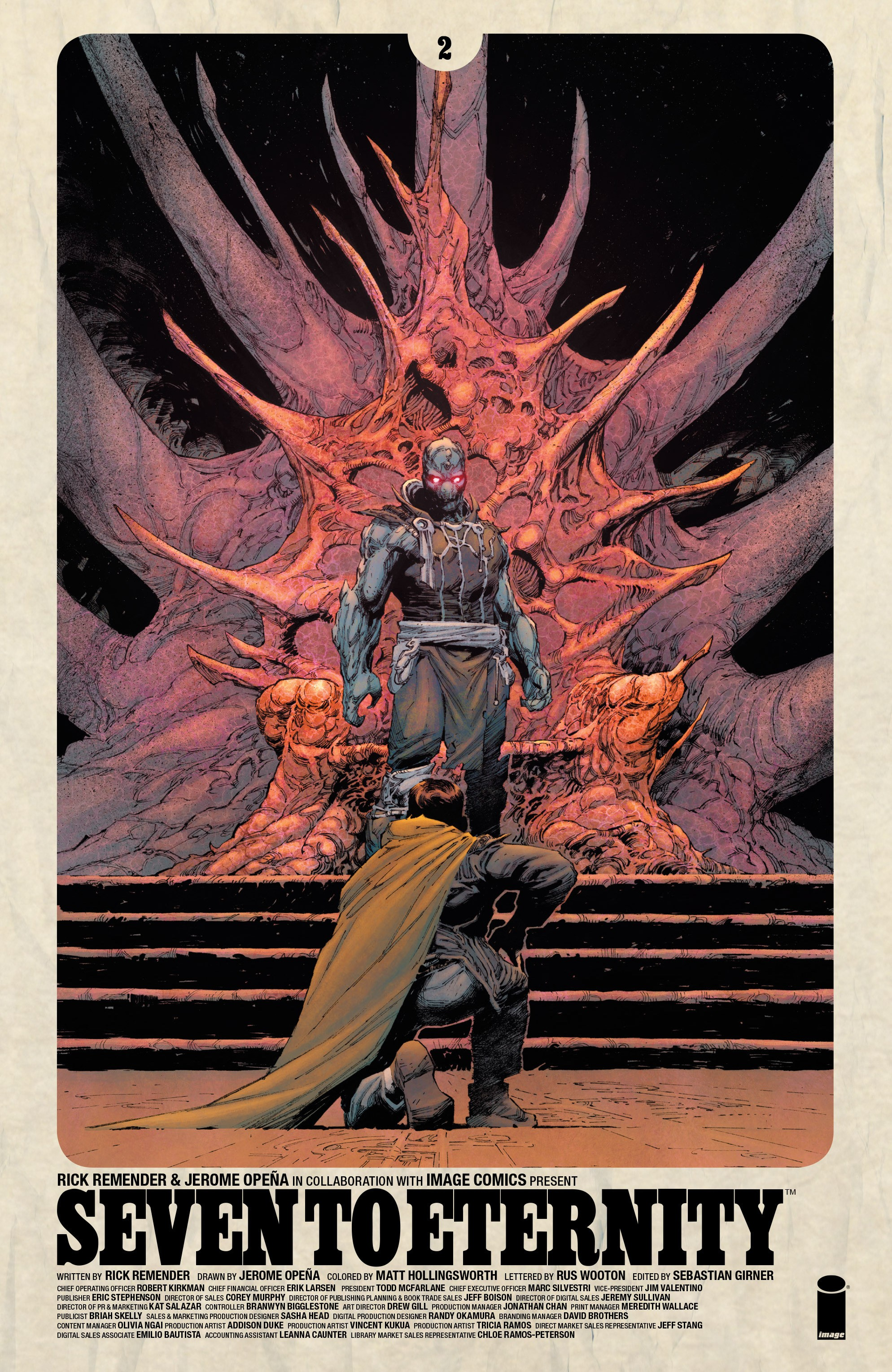 Read online Seven To Eternity comic -  Issue #2 - 1