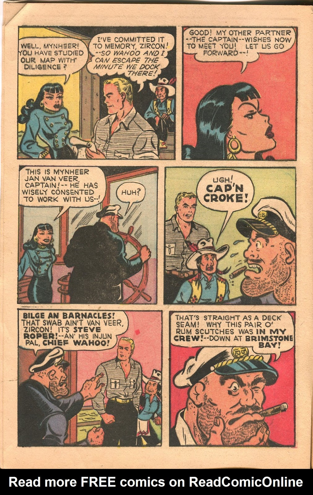 Read online Famous Funnies comic -  Issue #165 - 6