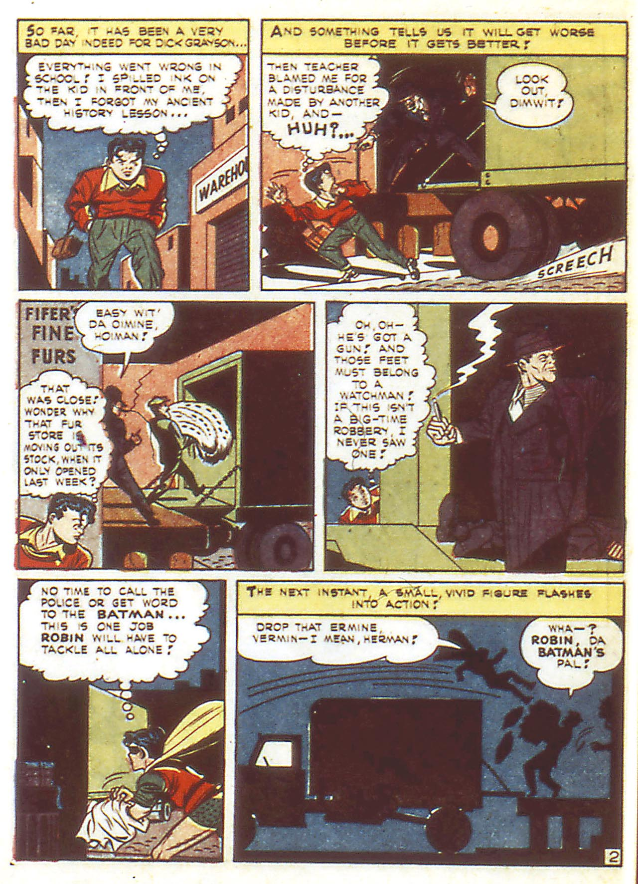 Read online Detective Comics (1937) comic -  Issue #86 - 4