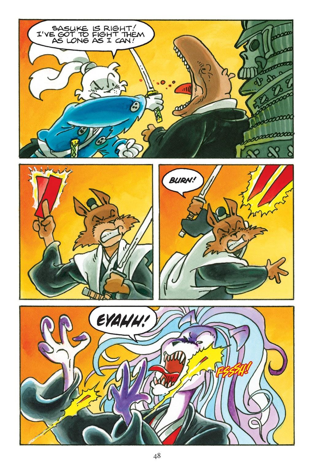 Read online Usagi Yojimbo: Yokai comic -  Issue # Full - 45