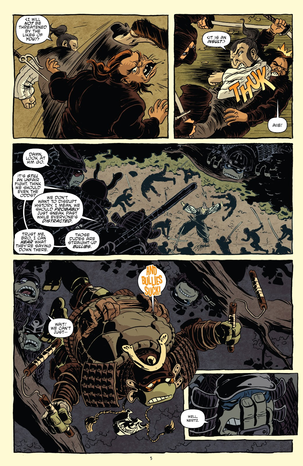 Read online Teenage Mutant Ninja Turtles: The IDW Collection comic -  Issue # TPB 5 (Part 1) - 35