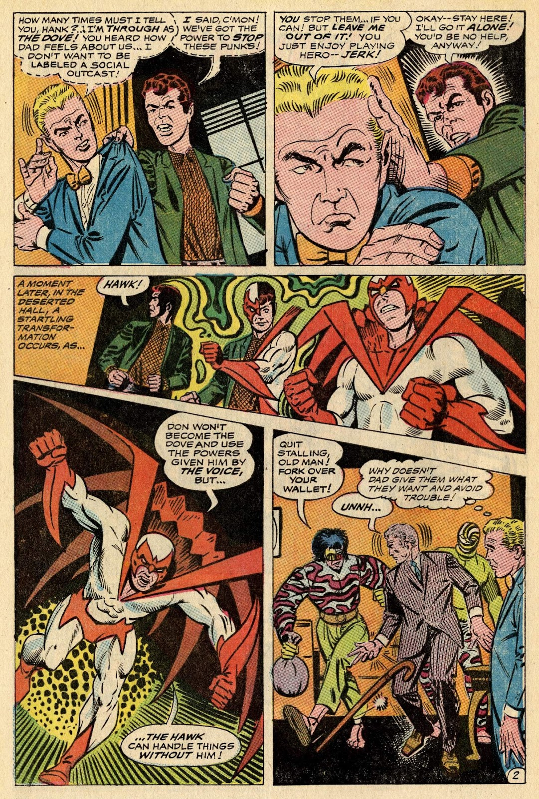The Hawk and the Dove issue 1 - Page 4