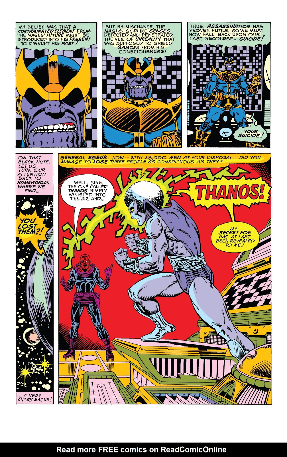 Read online Marvel Tales: Thanos comic -  Issue # Full - 22