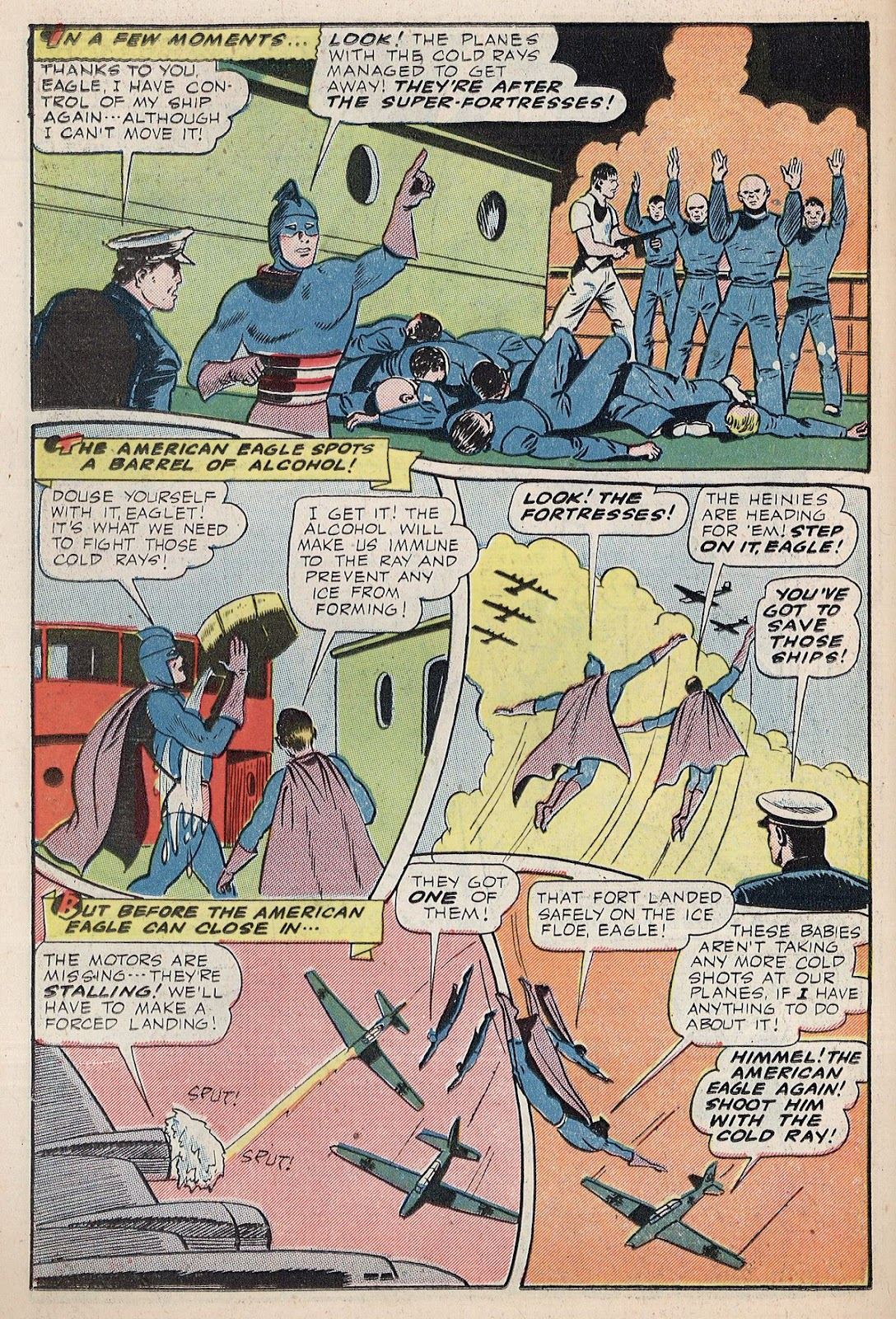 Exciting Comics (1940) issue 38 - Page 22