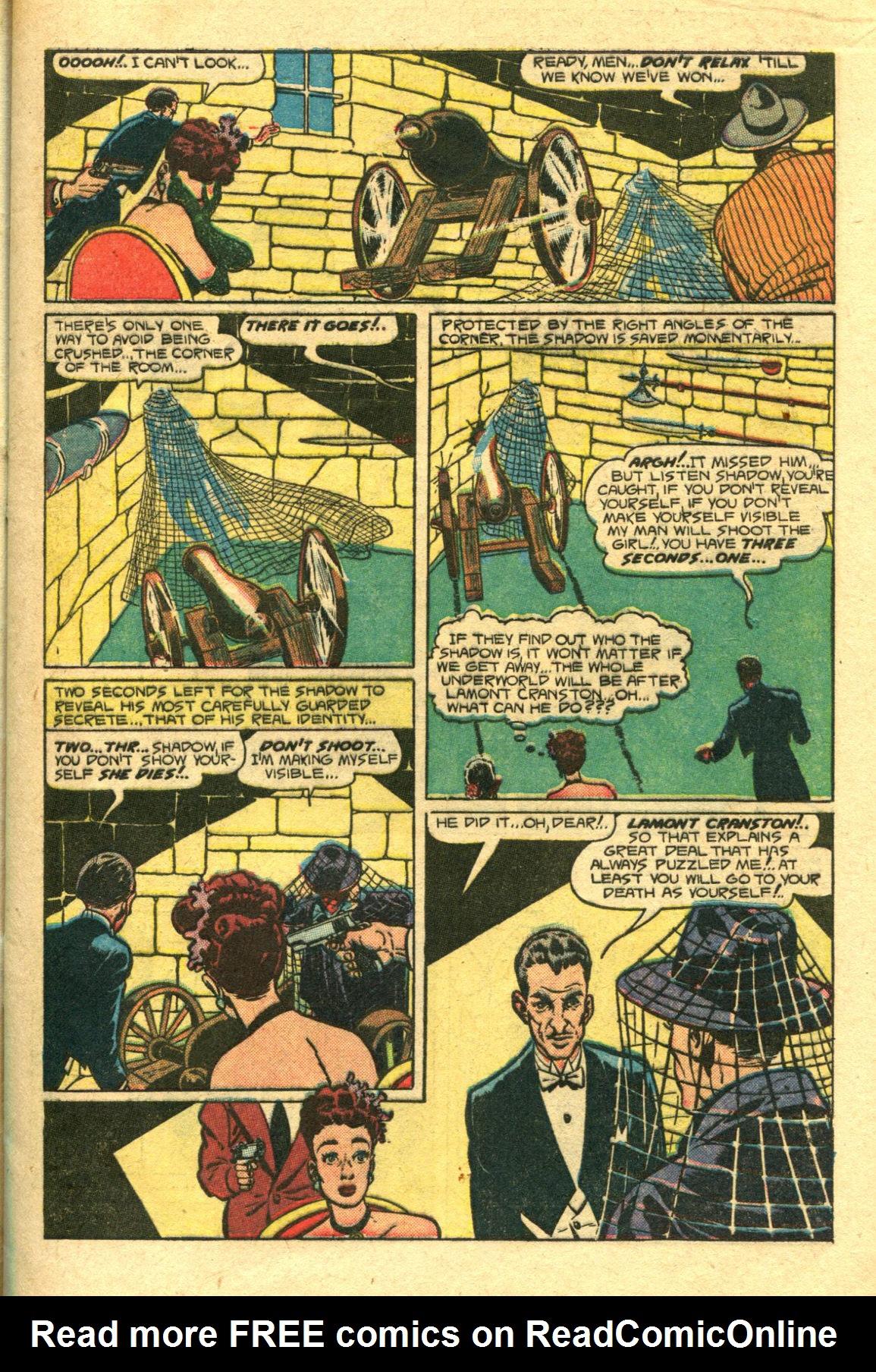 Read online Shadow Comics comic -  Issue #98 - 11