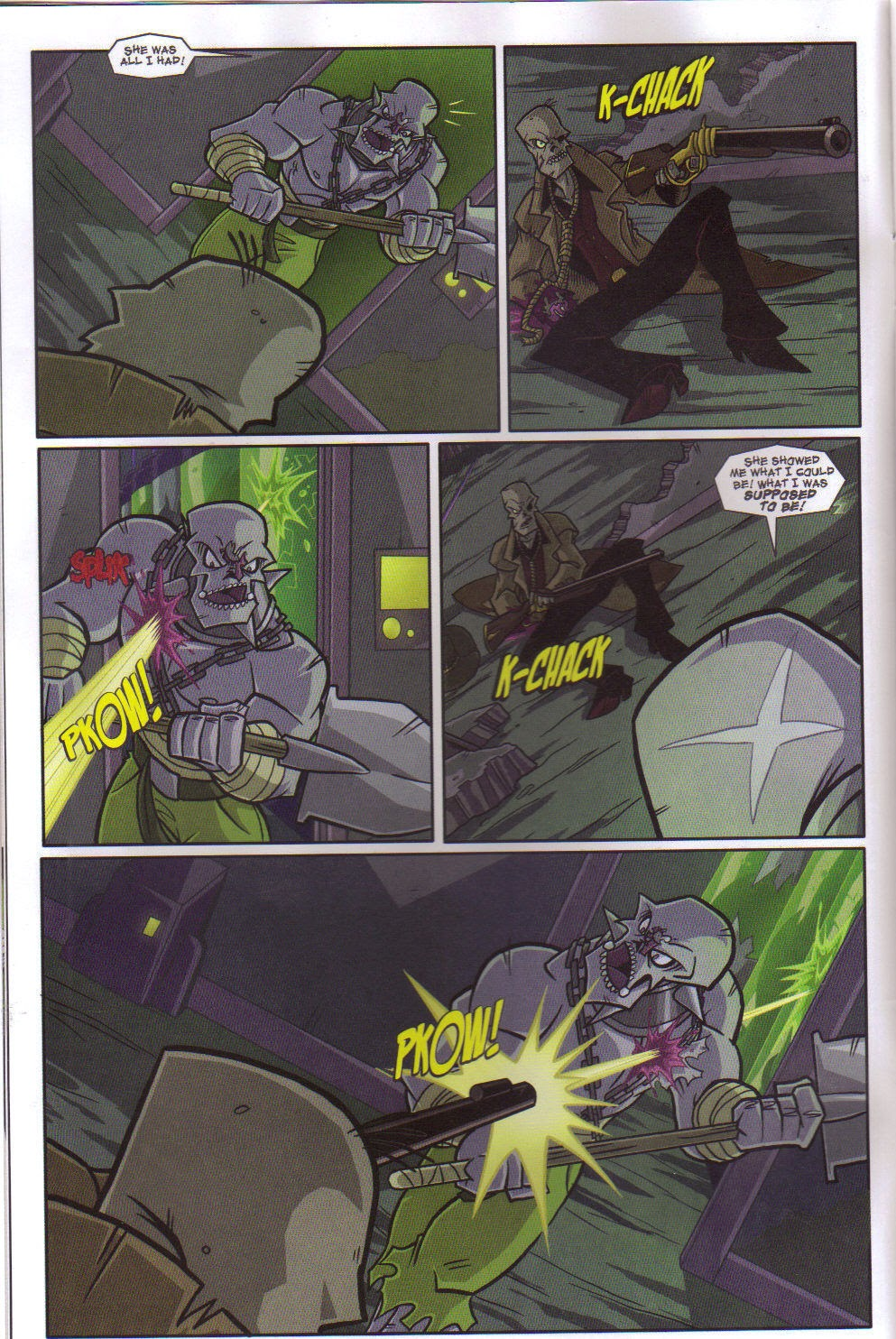 Read online Xombie Reanimated comic -  Issue #5 - 7