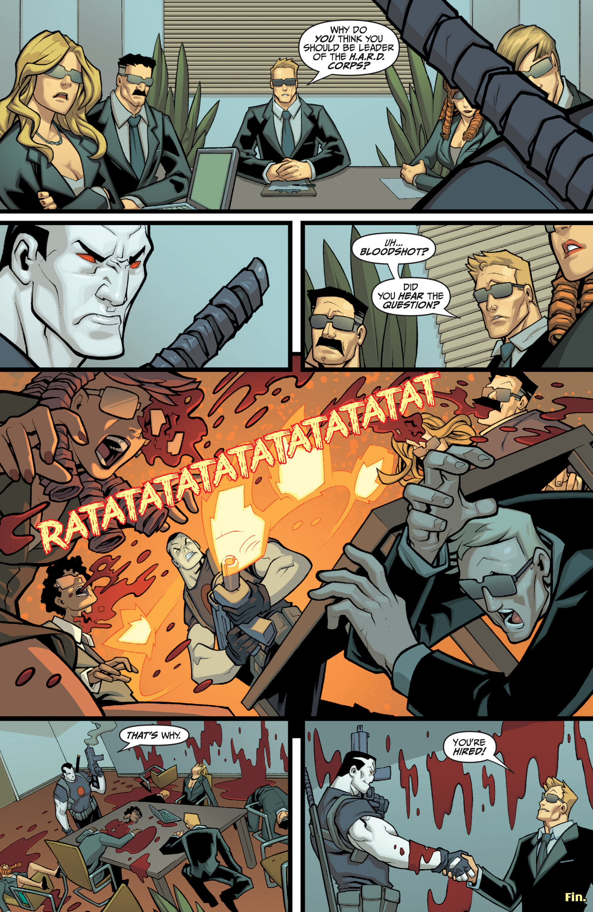 Read online Bloodshot and H.A.R.D.Corps comic -  Issue # TPB 4 - 137