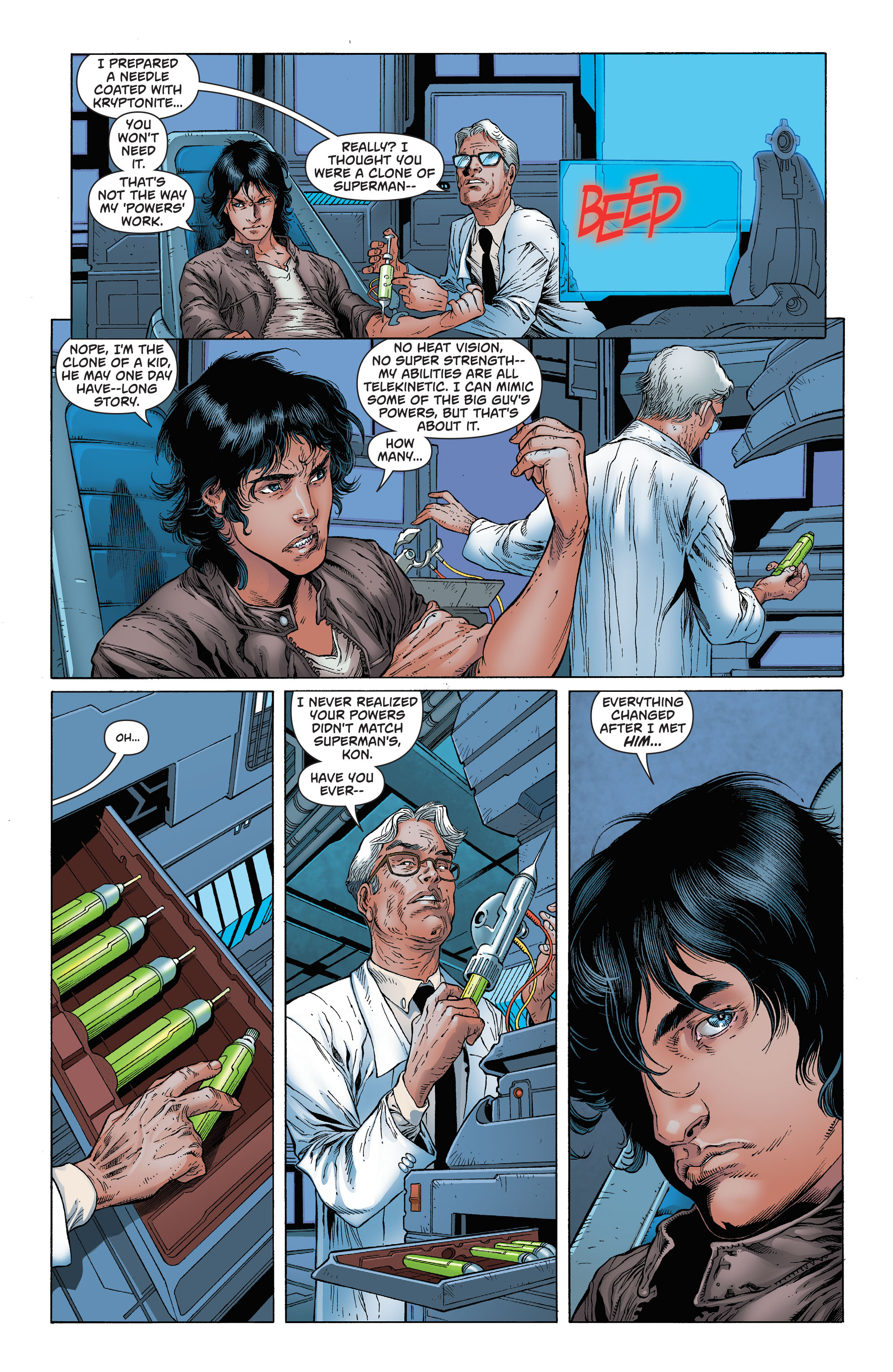 Read online Secret Origins (2014) comic -  Issue #7 - 31