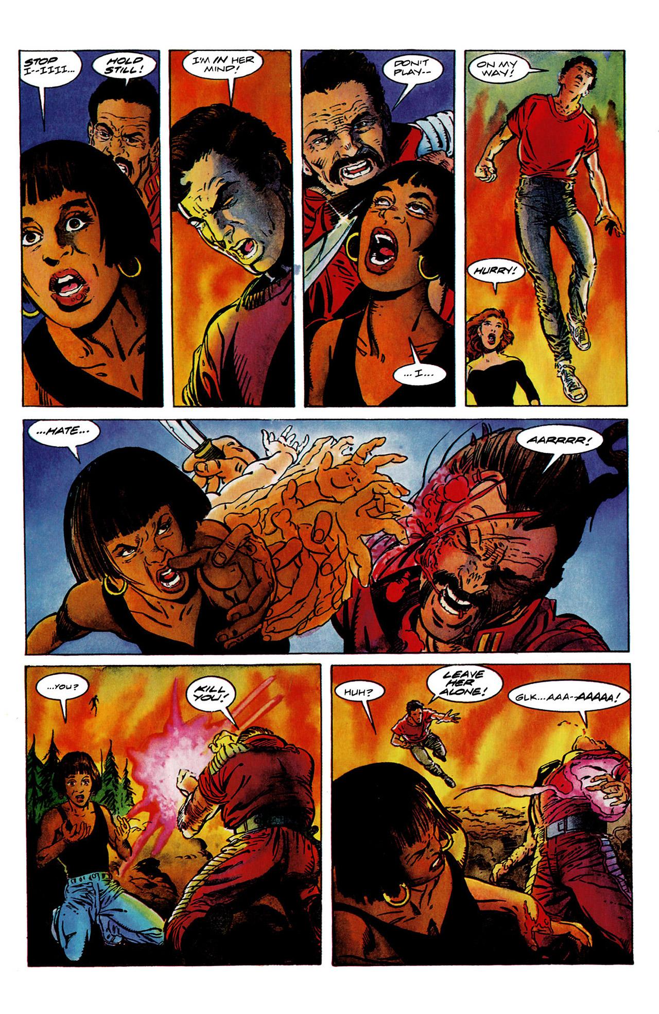 Read online Harbinger (1992) comic -  Issue #11 - 22