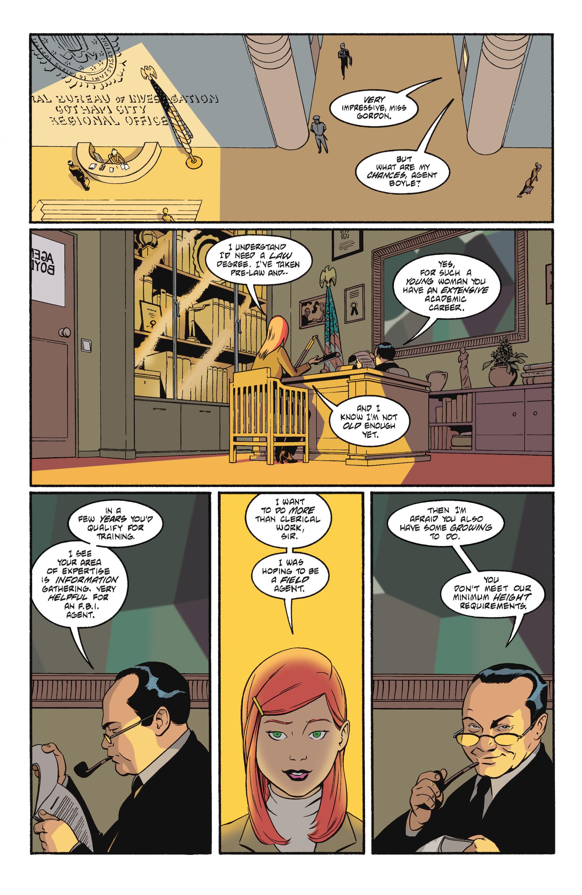 Read online Batgirl/Robin: Year One comic -  Issue # TPB 2 - 4
