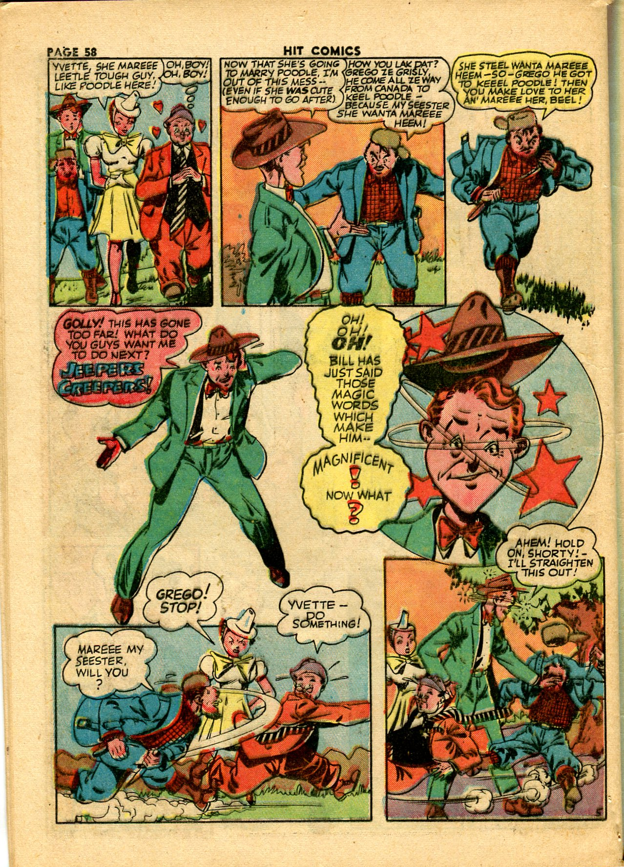 Read online Hit Comics comic -  Issue #28 - 61