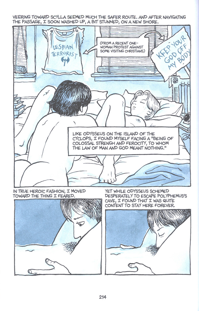 Read online Fun Home: A Family Tragicomic comic -  Issue # TPB - 220