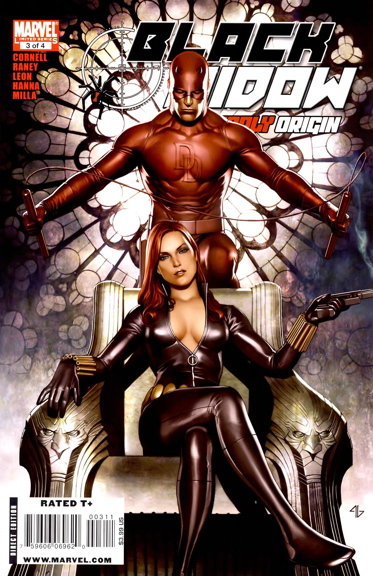 Black Widow: Deadly Origin 3 Page 1