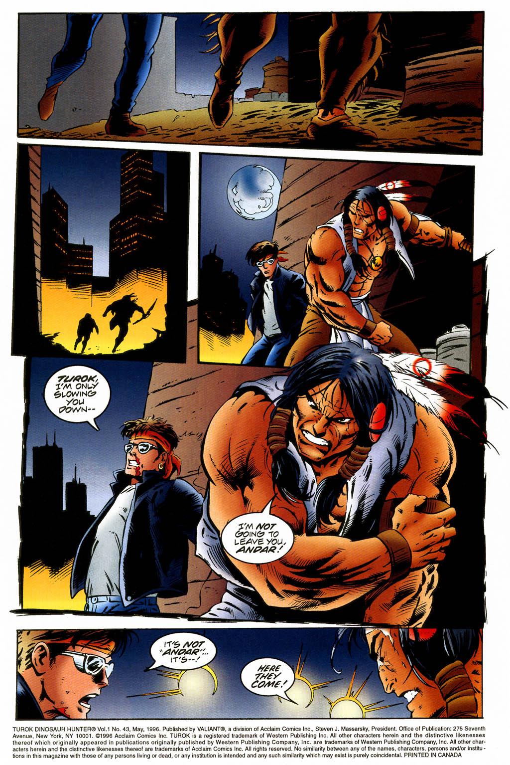 Read online Turok, Dinosaur Hunter (1993) comic -  Issue #43 - 2