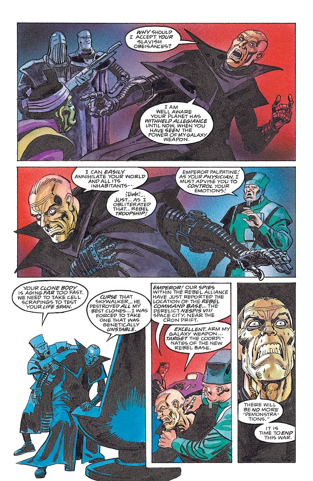 Read online Star Wars: Dark Empire Trilogy comic -  Issue # TPB (Part 4) - 14