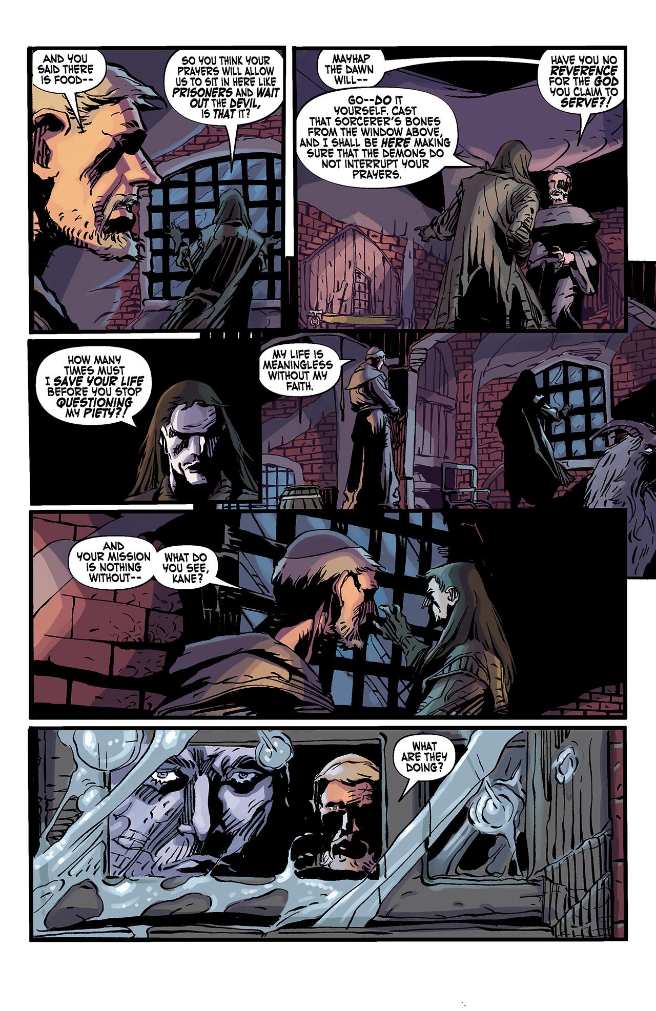 Read online Solomon Kane: Death's Black Riders comic -  Issue #3 - 19