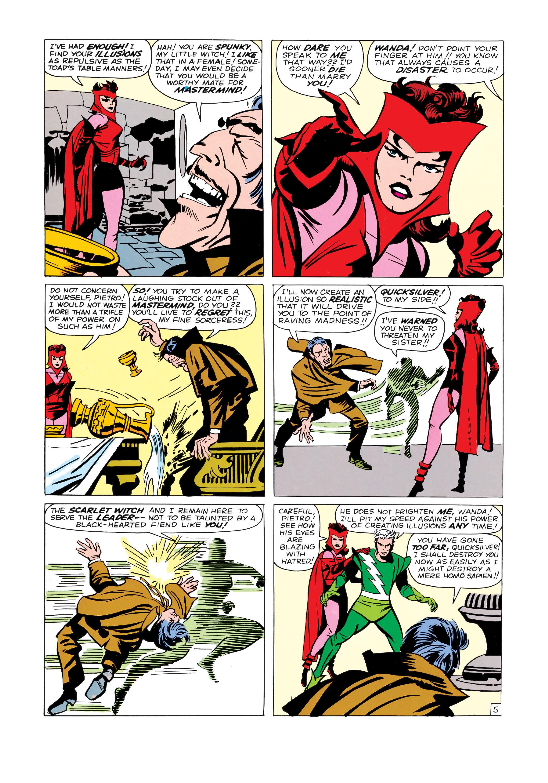 Read online Uncanny X-Men (1963) comic -  Issue #4 - 6