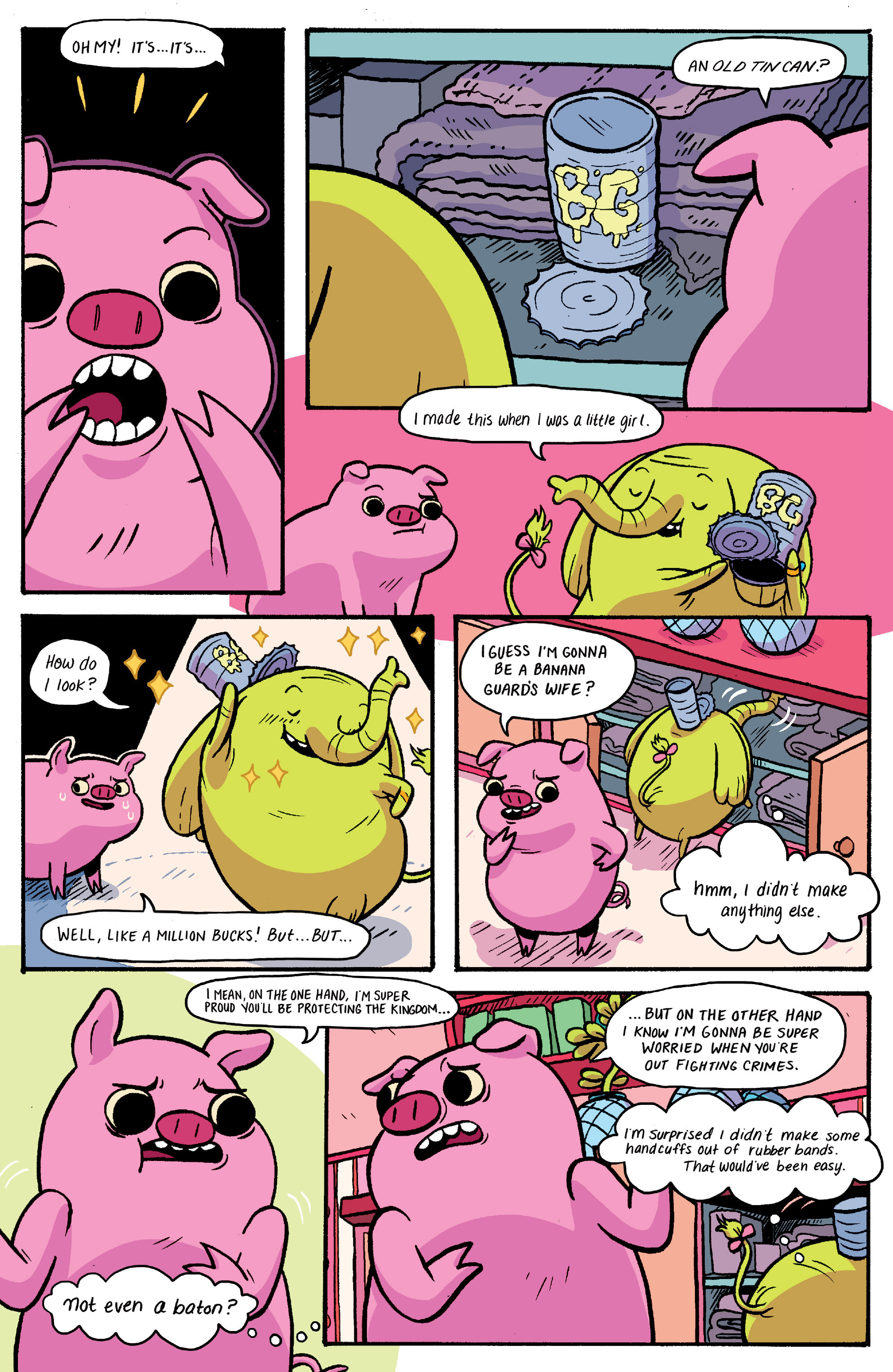Read online Adventure Time: Banana Guard Academ comic -  Issue #1 - 9