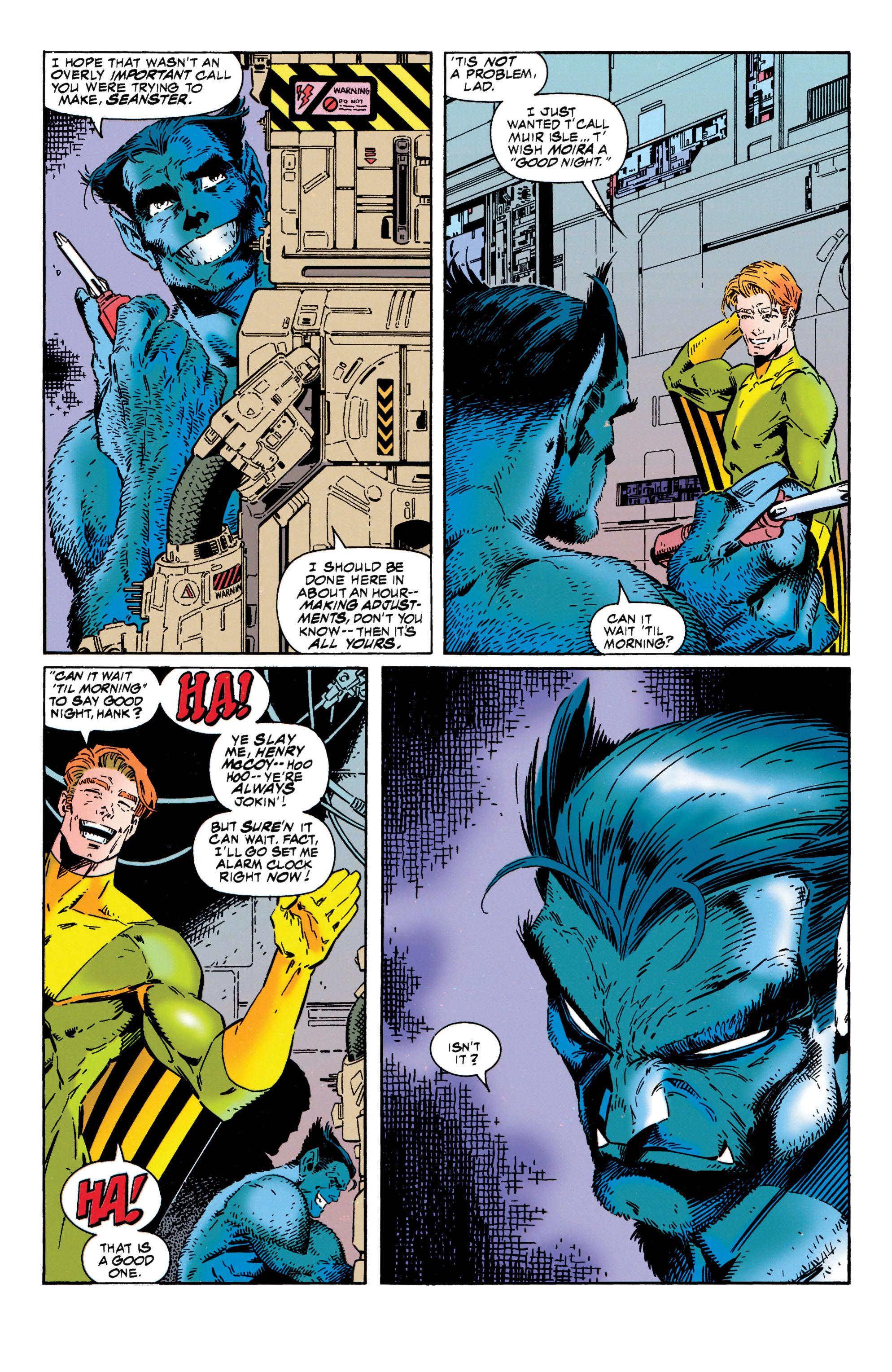 Read online Uncanny X-Men (1963) comic -  Issue #316 - 17