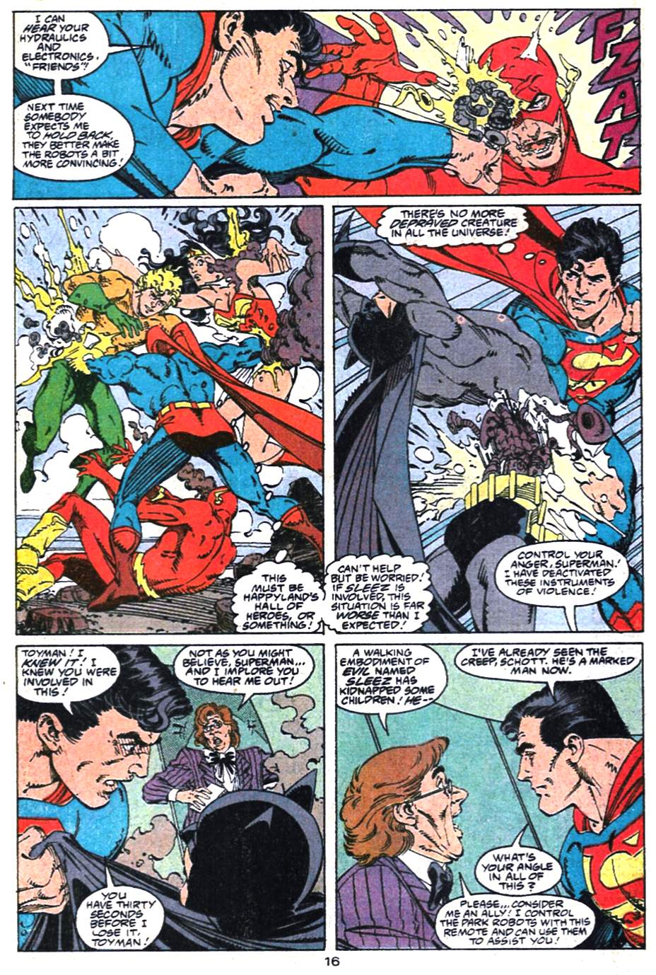 Read online Adventures of Superman (1987) comic -  Issue #475 - 17