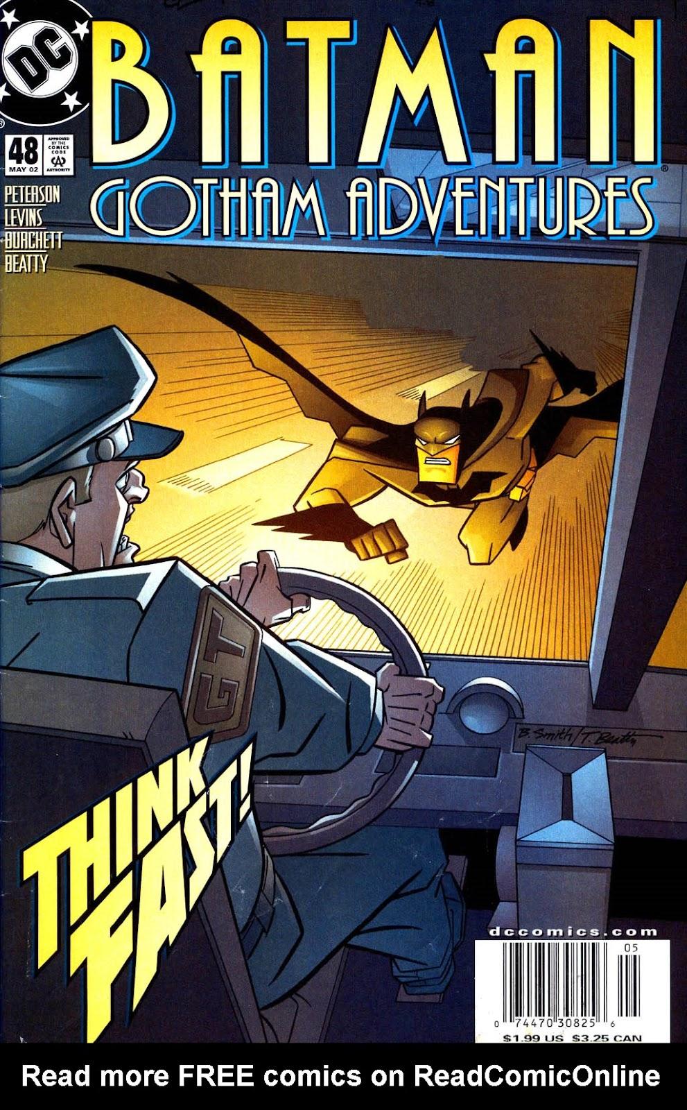 Batman: Gotham Adventures issue 48 - Page 1