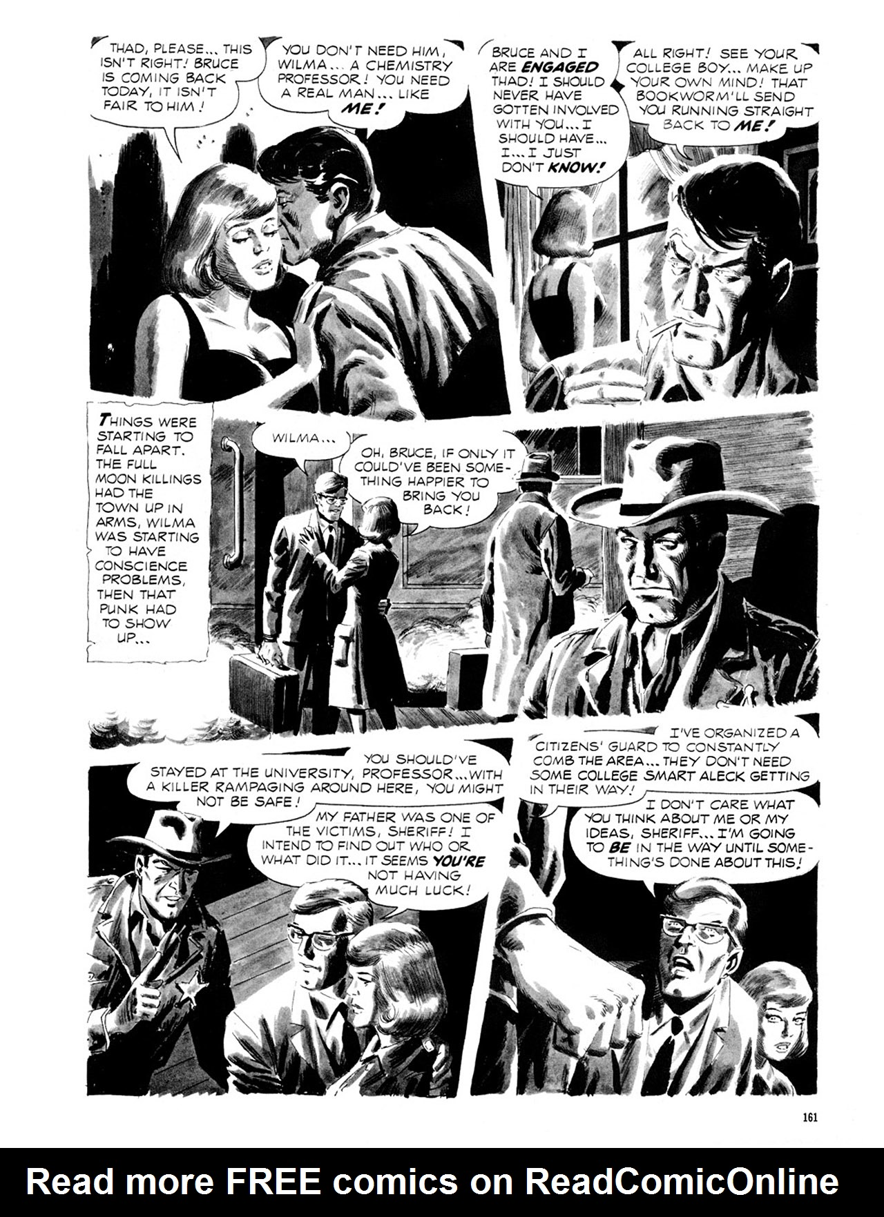 Read online Eerie Archives comic -  Issue # TPB 2 - 162