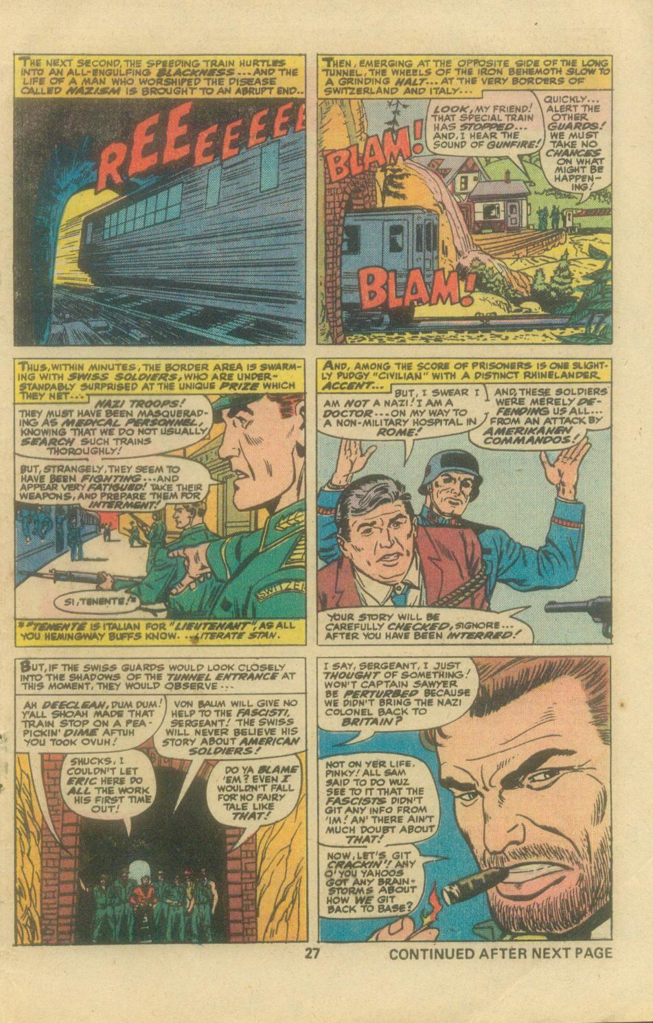 Read online Sgt. Fury comic -  Issue #138 - 29