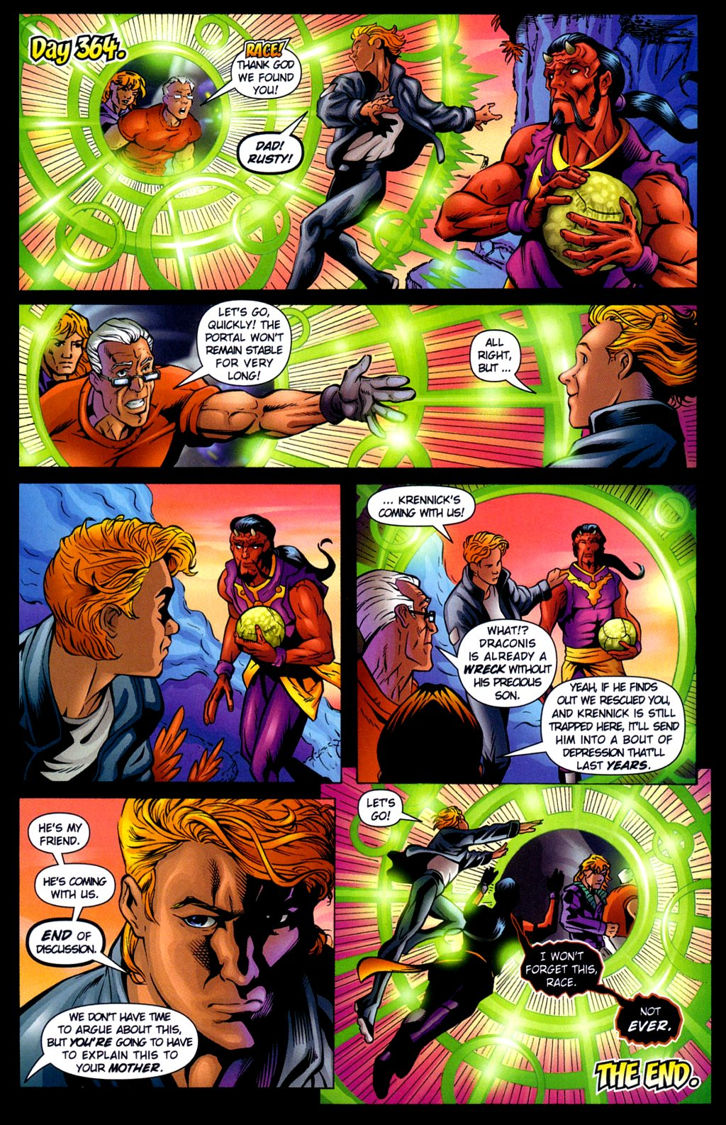 Read online Noble Causes (2002) comic -  Issue #3 - 24