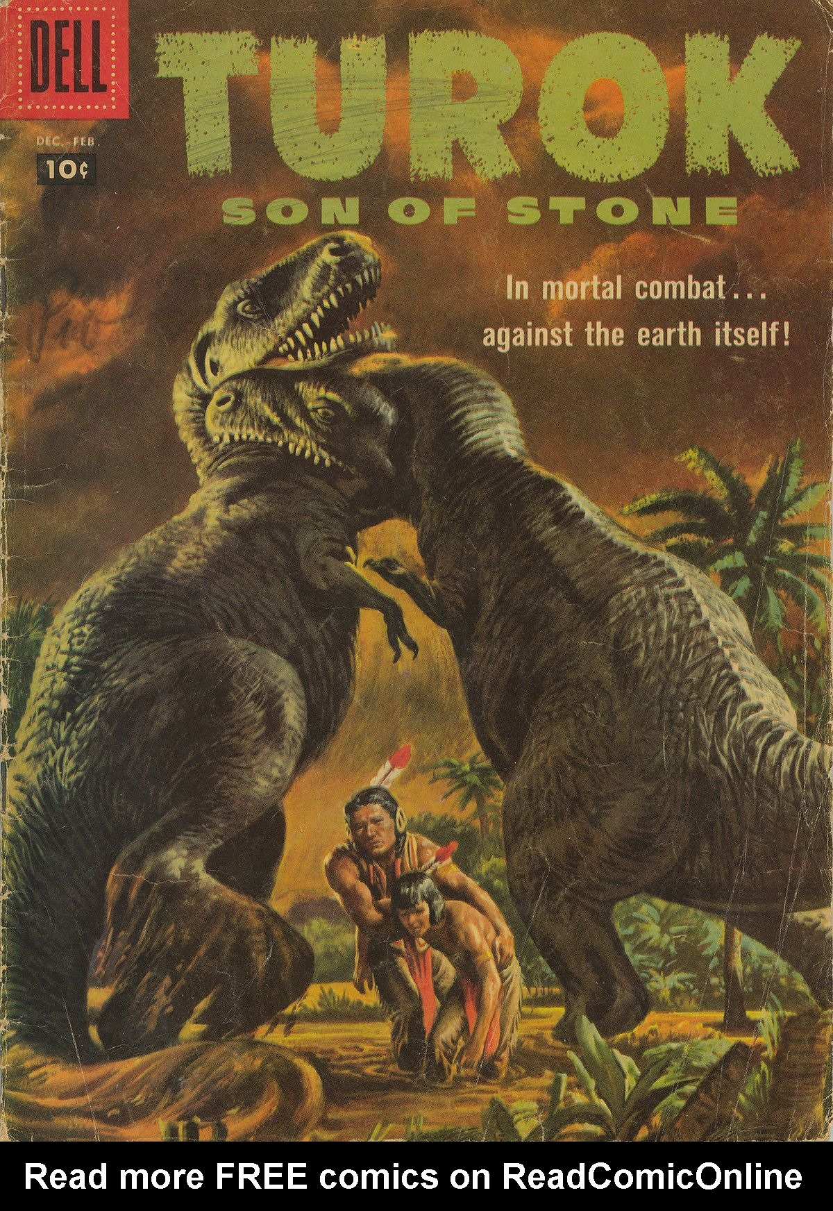 Read online Turok, Son of Stone comic -  Issue #10 - 1