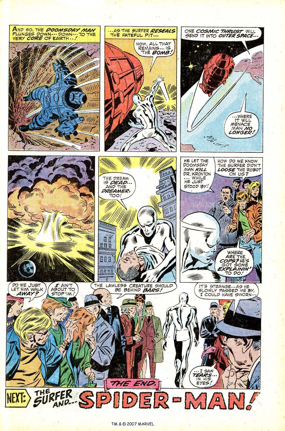 Read online Silver Surfer (1968) comic -  Issue #13 - 29