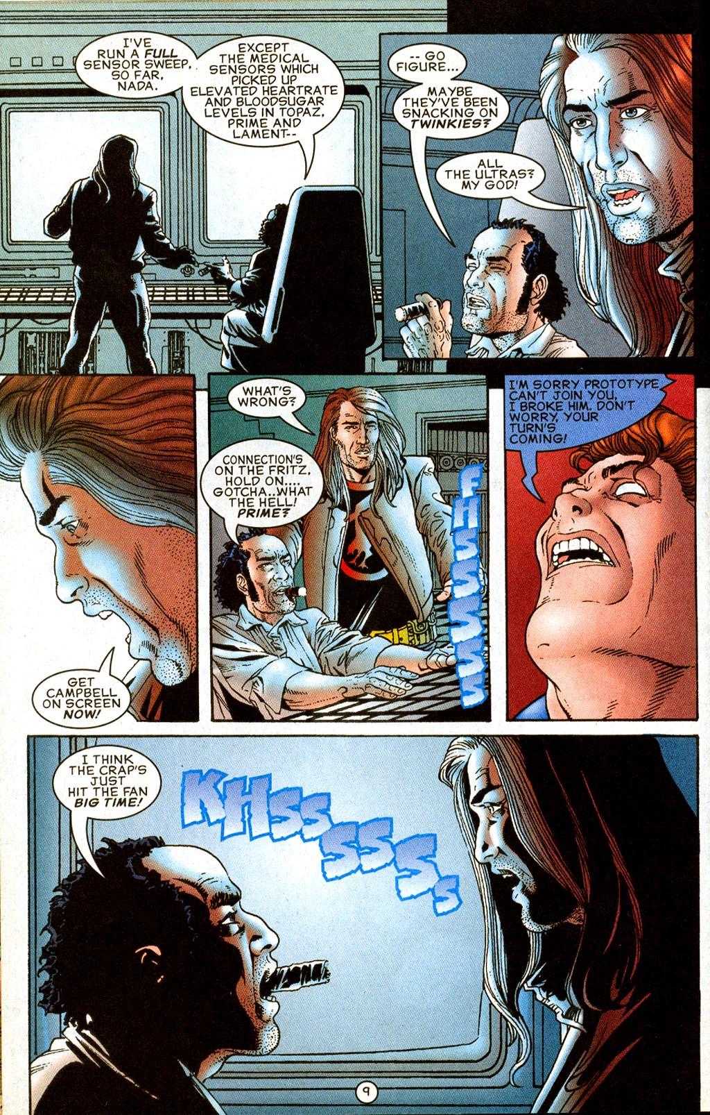 Read online UltraForce (1995) comic -  Issue #8 - 10