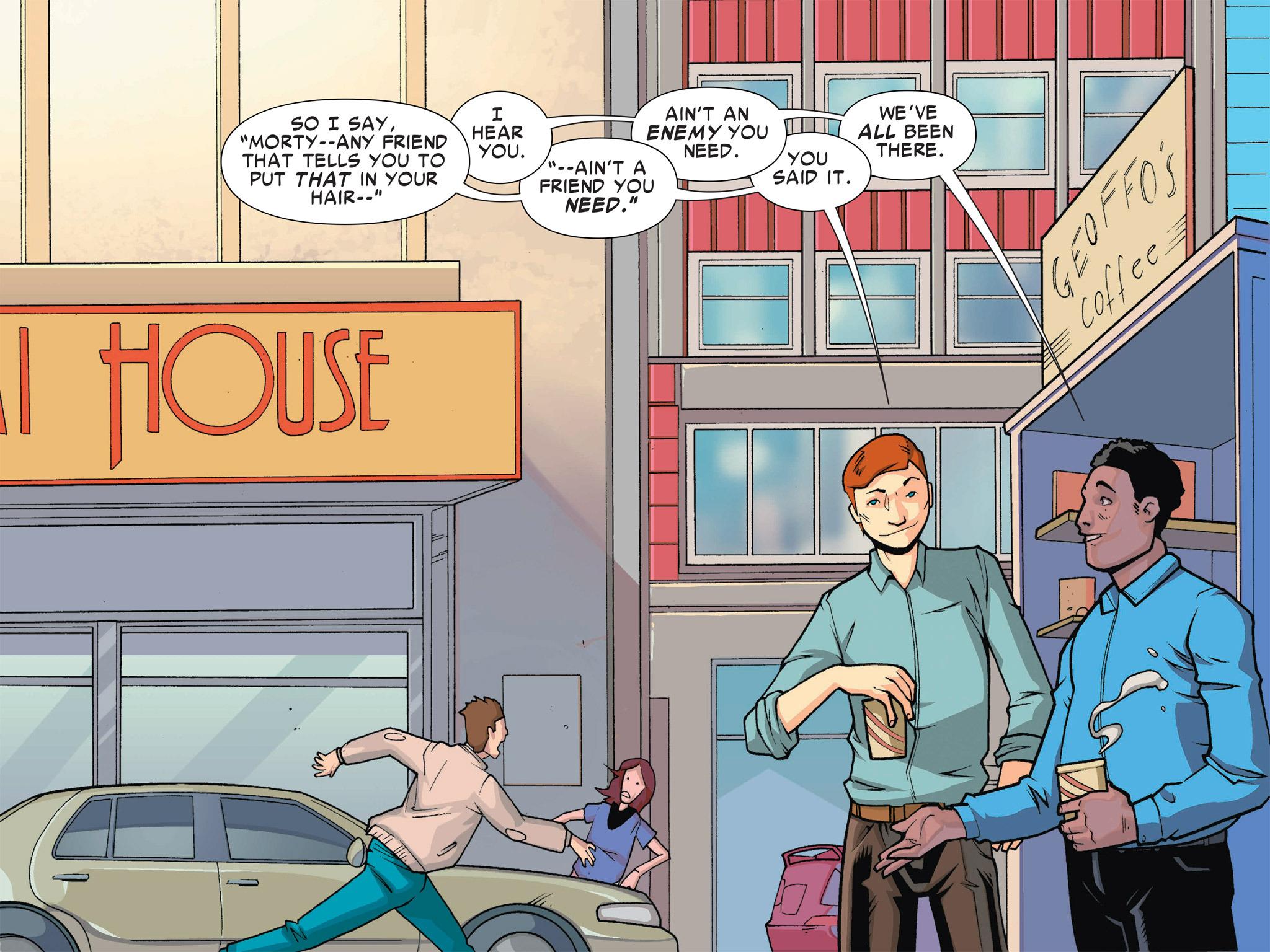 Read online Ultimate Spider-Man (Infinite Comics) (2016) comic -  Issue #1 - 9