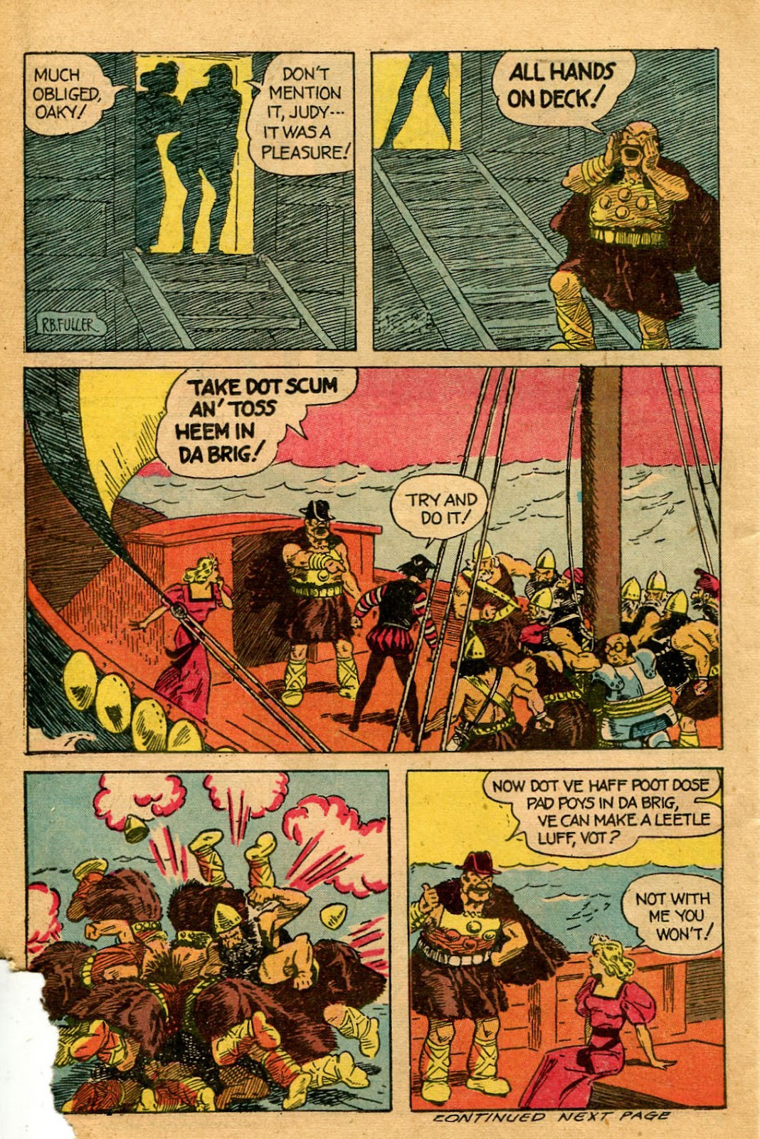 Read online Famous Funnies comic -  Issue #127 - 36