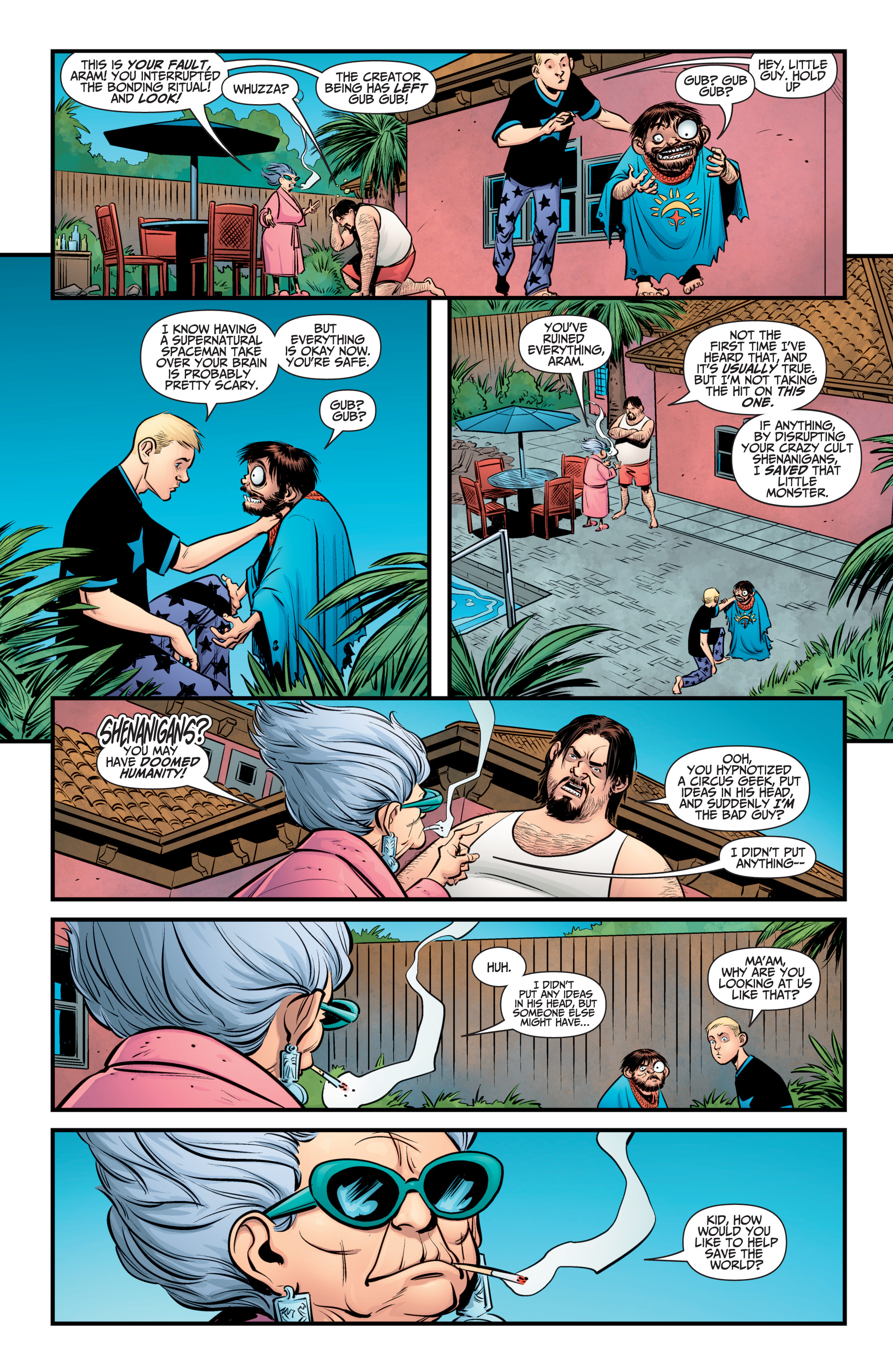Read online A&A: The Adventures of Archer & Armstrong comic -  Issue #10 - 6